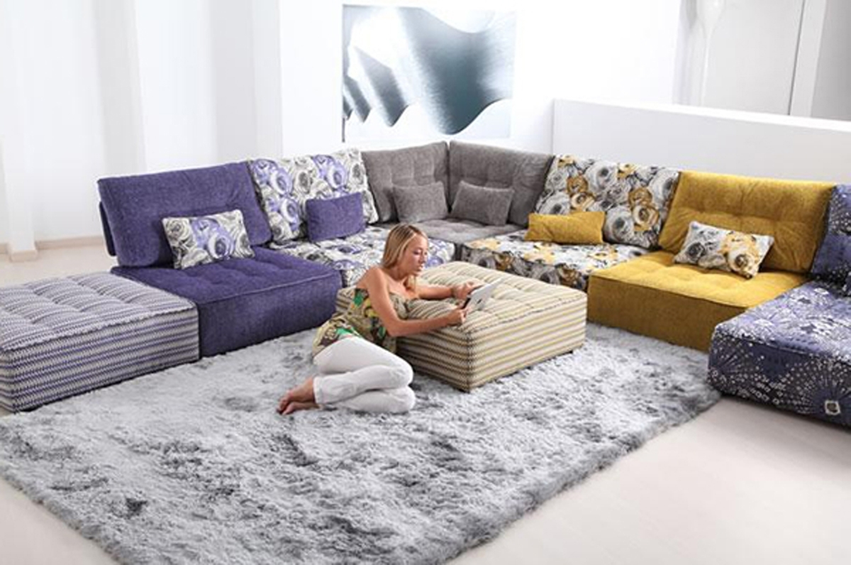 Preferred Floor Cushion Sofas In Floor Cushion Sofa (View 9 of 15)