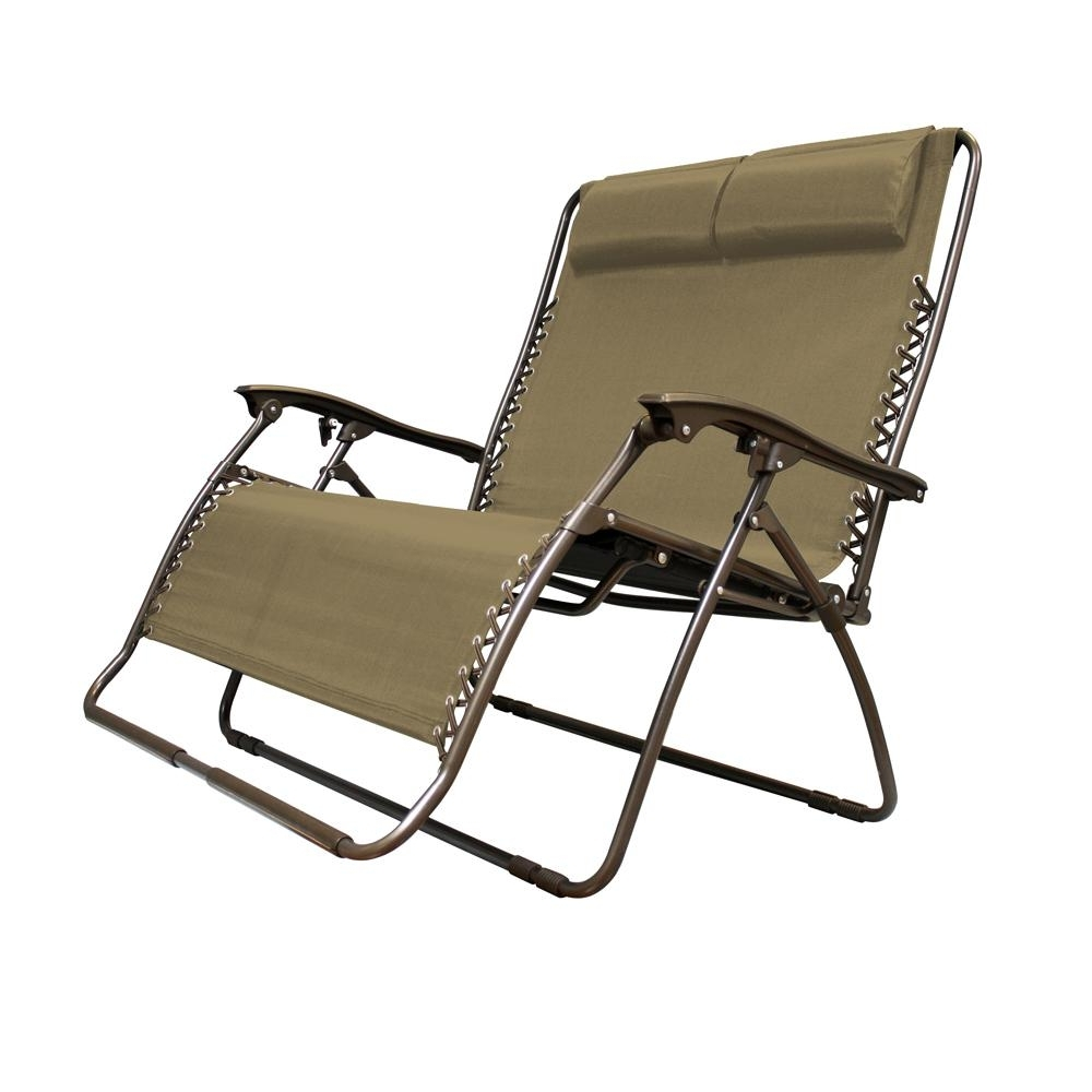 Preferred Folding Beach & Lawn Chairs Patio Chairs The Home Depot Folding Within Chaise Lawn Chairs (View 9 of 15)