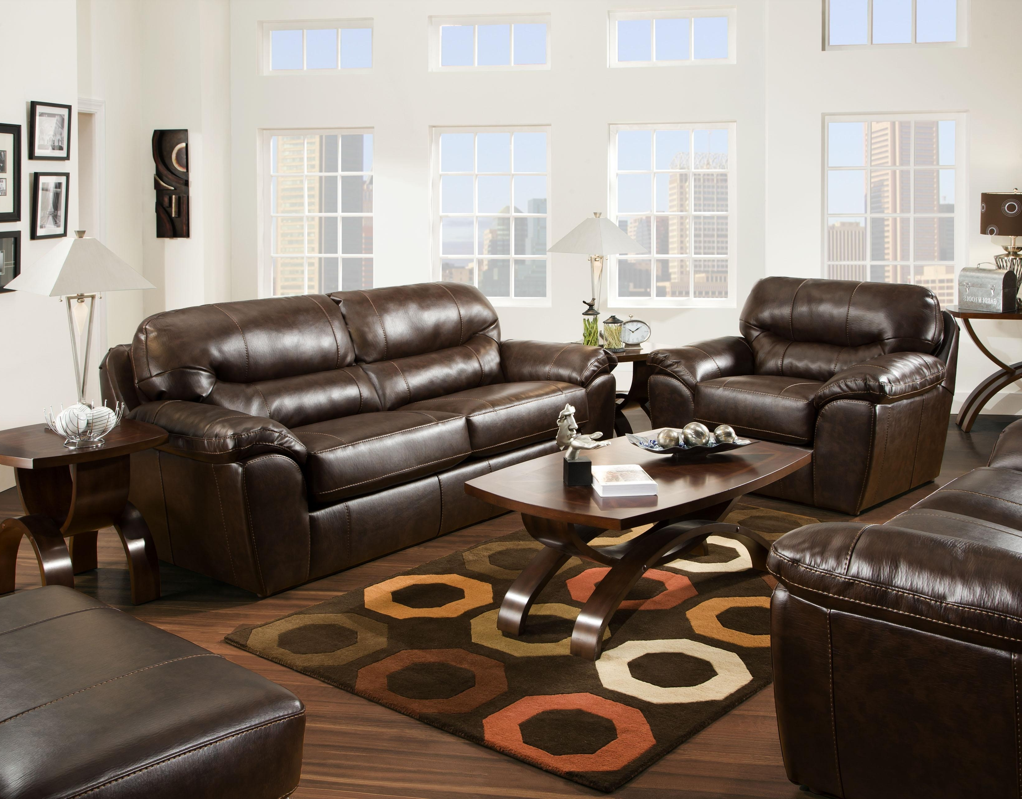 Preferred Furniture : Claudia Ii Leather Sofa And Loveseat Macys Leather With Regard To Sectional Sofas At Barrie (View 9 of 15)