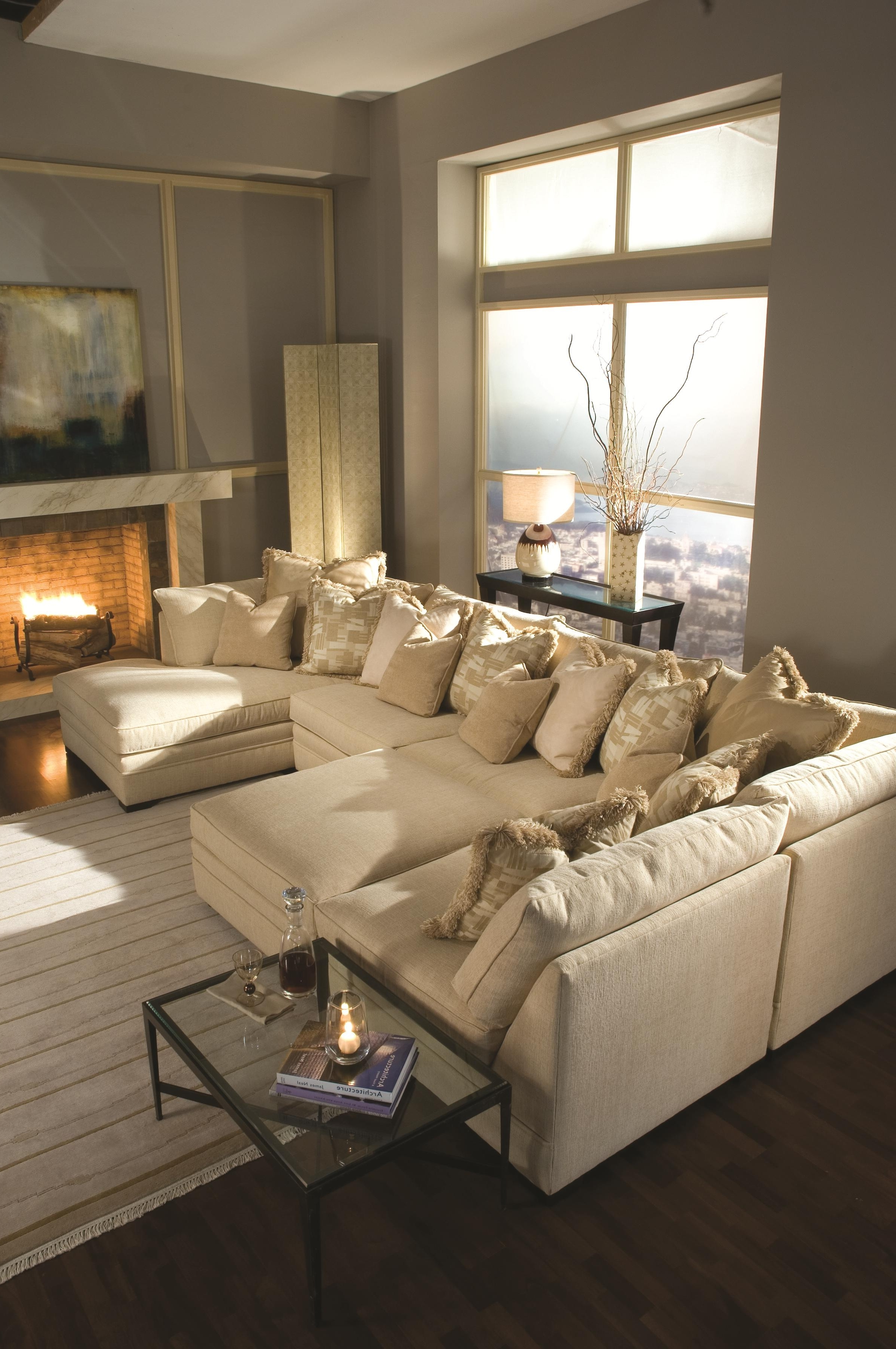 Preferred Geoffrey Alexander 7100 Contemporary U Shape Sectional Sofa With In Nashville Sectional Sofas (View 14 of 15)