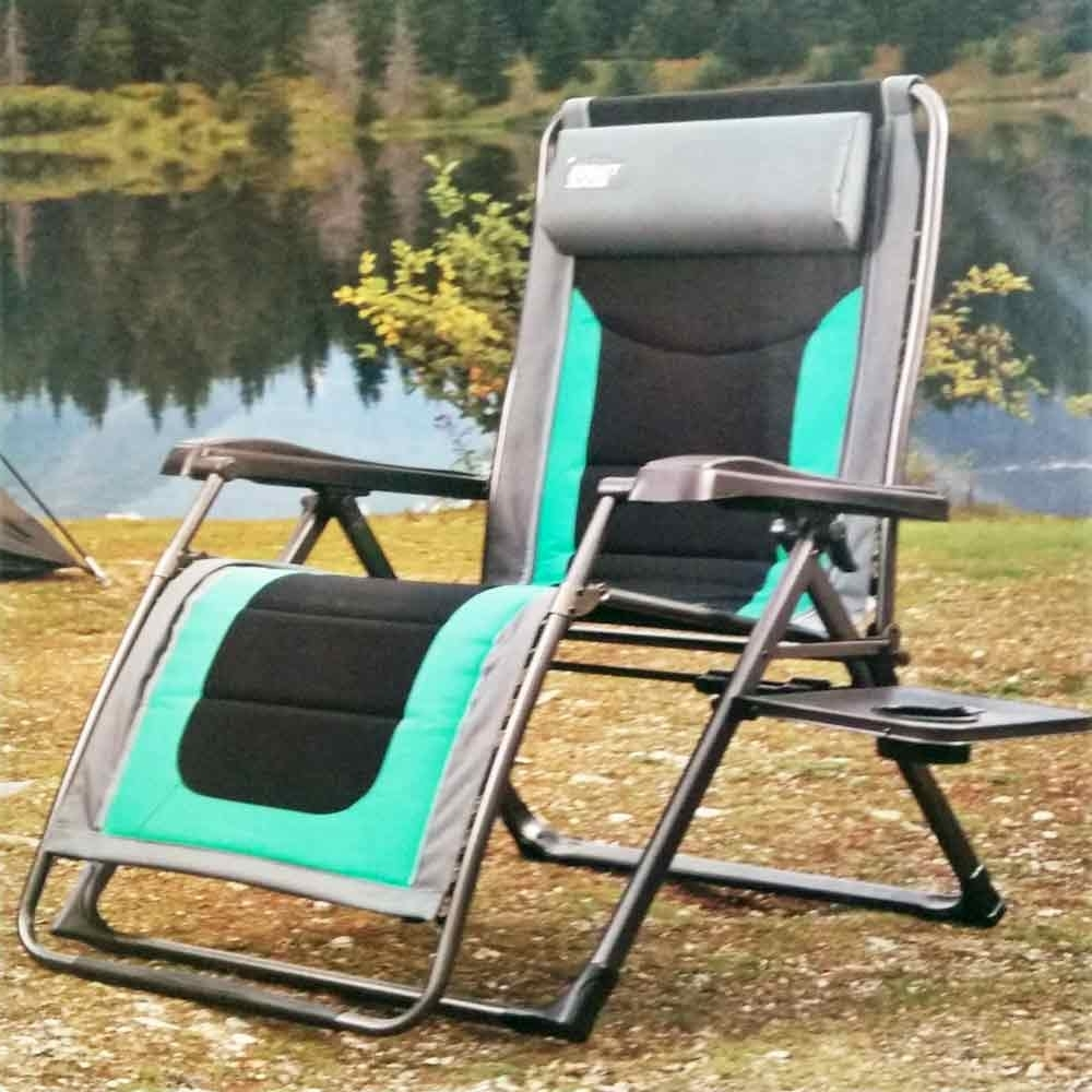 Preferred Green Timber Ridge Zero Gravity Lounger Chair Pertaining To Zero Gravity Chaise Lounges (View 7 of 15)