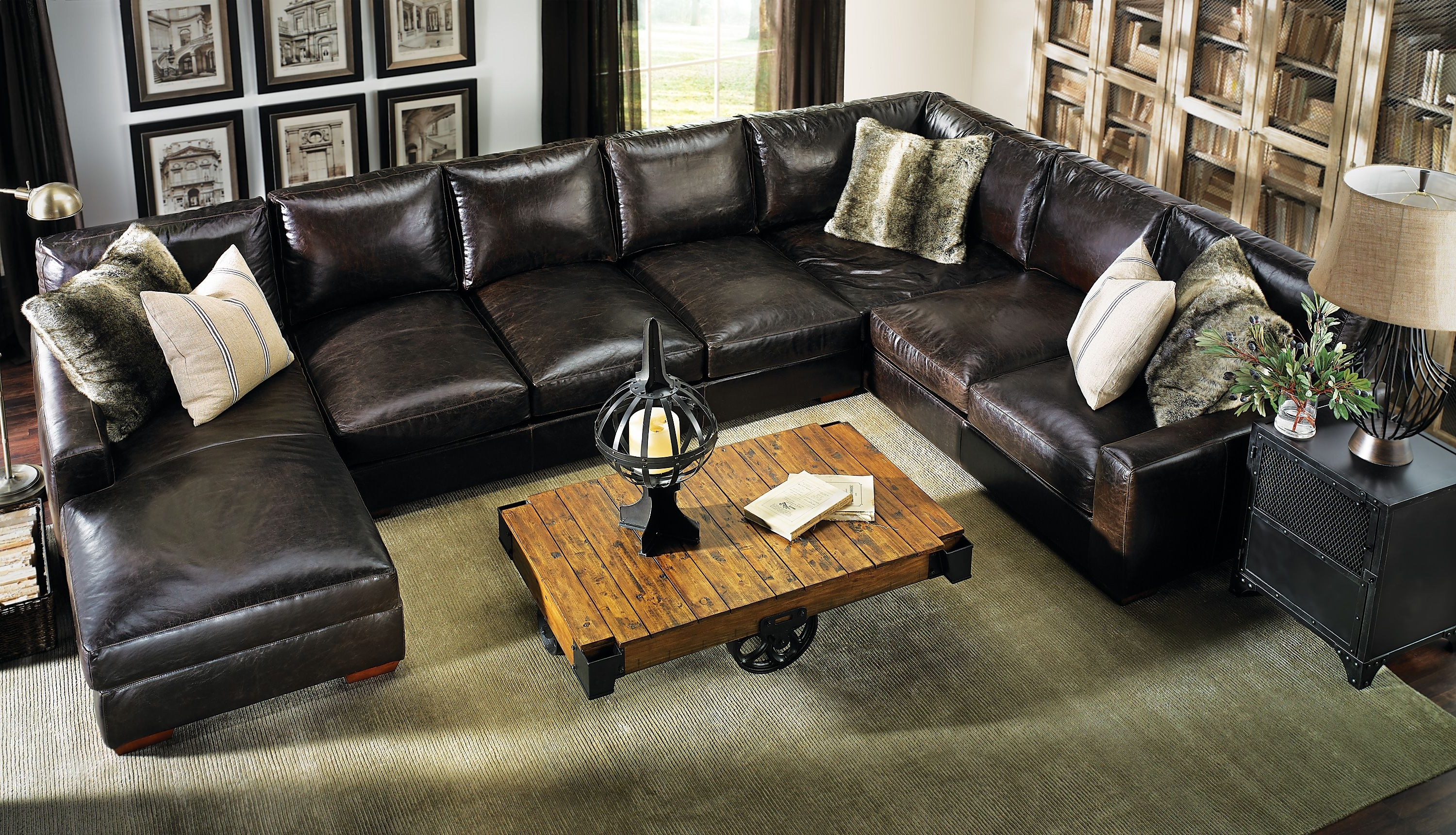 Preferred Howard Sectional Sofa #leather #everyonewillfit (View 3 of 15)