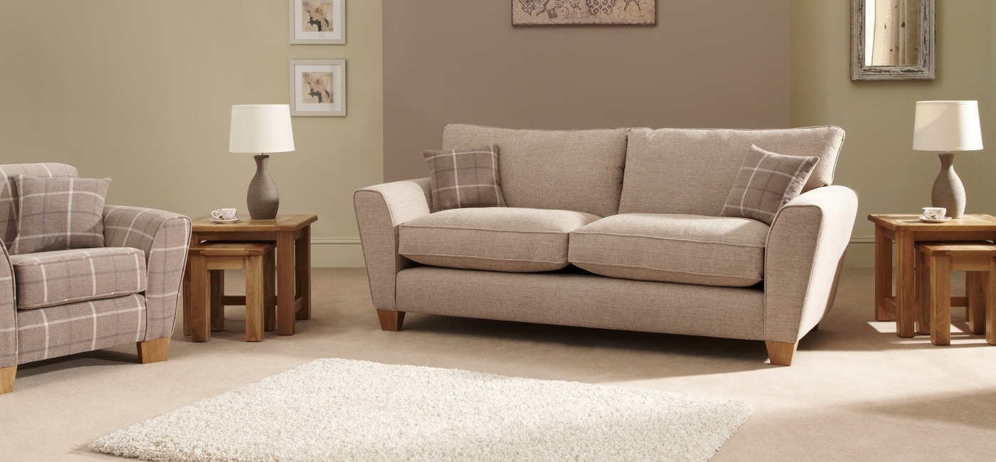 Preferred Lois 3 Seater Sofa Standard Back (View 12 of 15)