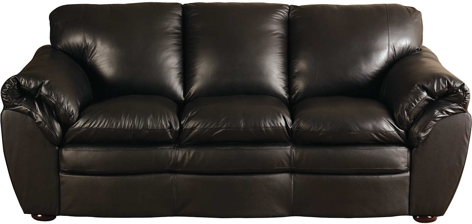 Preferred Marisa 100 Genuine Leather Sofa • Leather Sofa Regarding The Brick Leather Sofas (View 2 of 15)