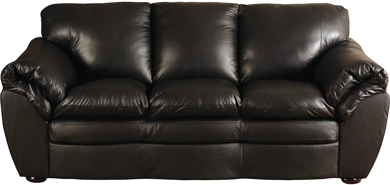 Preferred Marisa 100 Genuine Leather Sofa • Leather Sofa Regarding The Brick Leather Sofas (View 10 of 15)