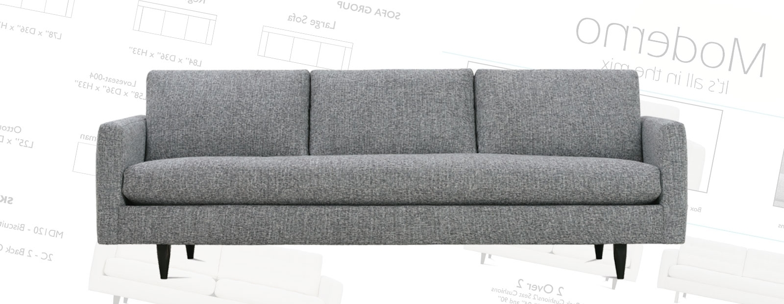 Preferred Mobilia Sectional Sofas Regarding Moderno Seating (View 11 of 15)