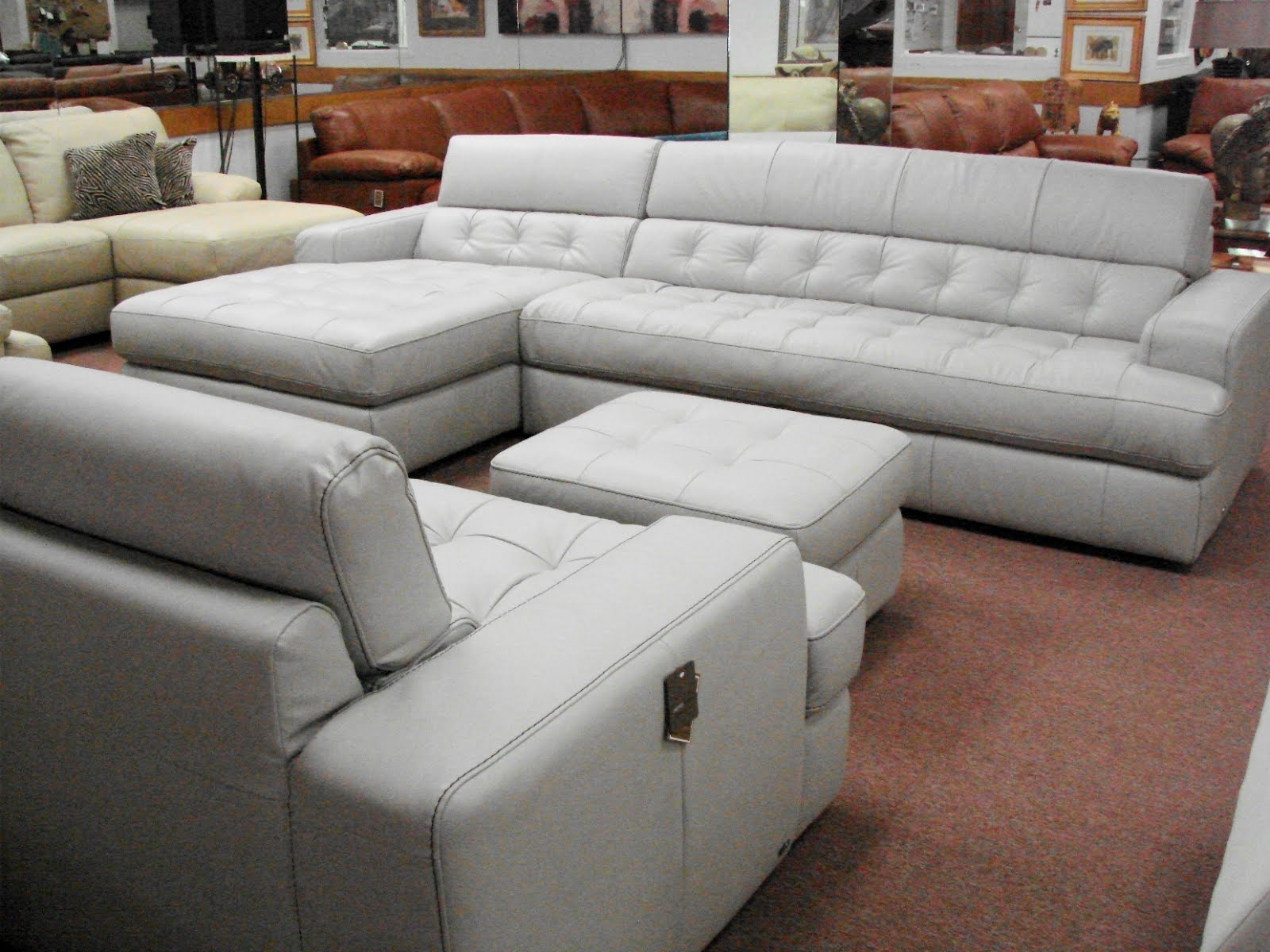 Preferred Natuzzi Leather Sofas & Sectionalsinterior Concepts Furniture Within Natuzzi Sectional Sofas (View 12 of 15)