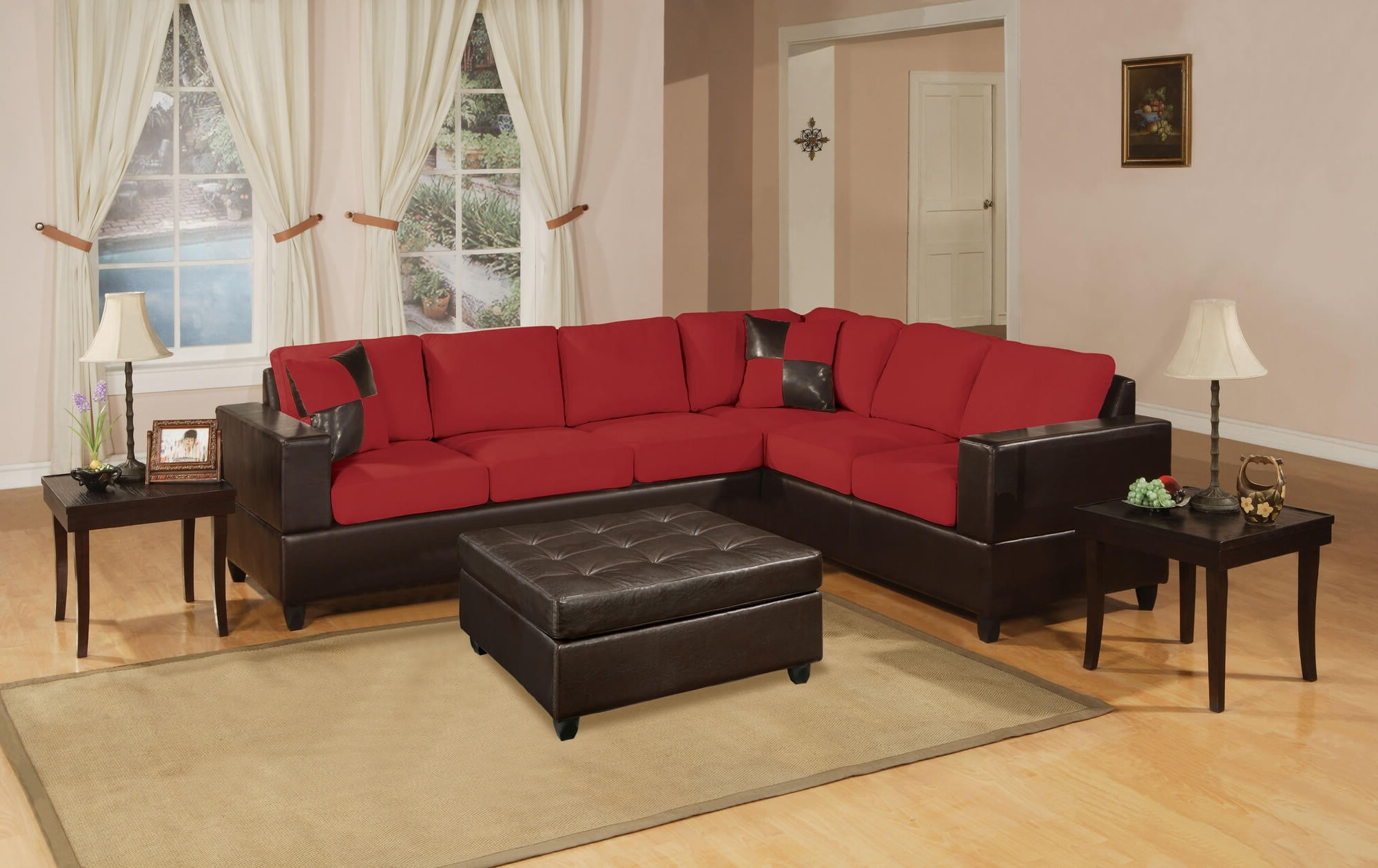 Preferred Red Sectional Sofas With 18 Stylish Modern Red Sectional Sofas (View 13 of 15)