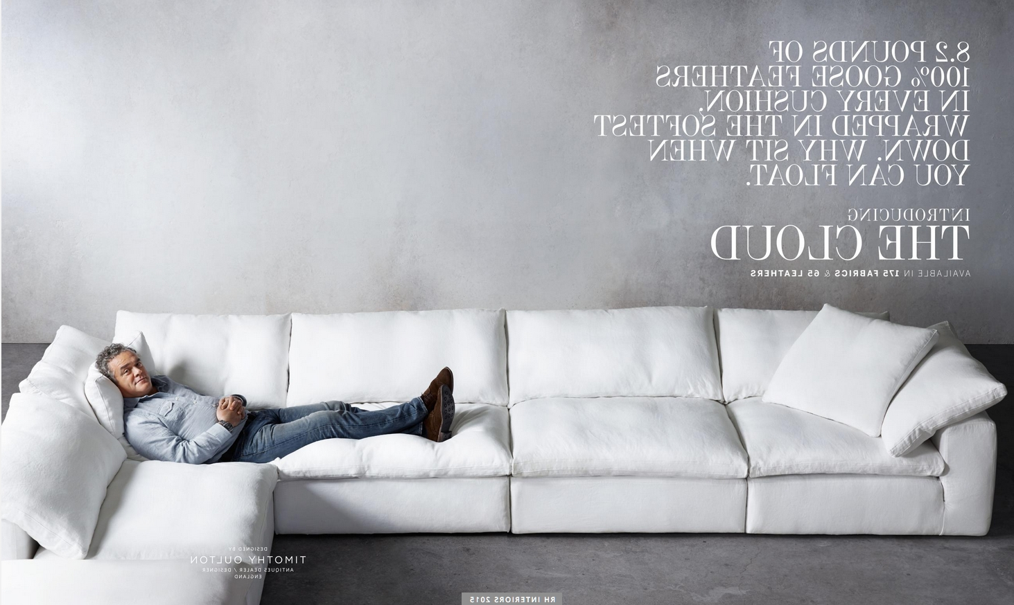Preferred Restoration Hardware Sectional Sofas Intended For Test Road It Today! Love It! Gotta Have It! Restoration Hardware (View 6 of 15)