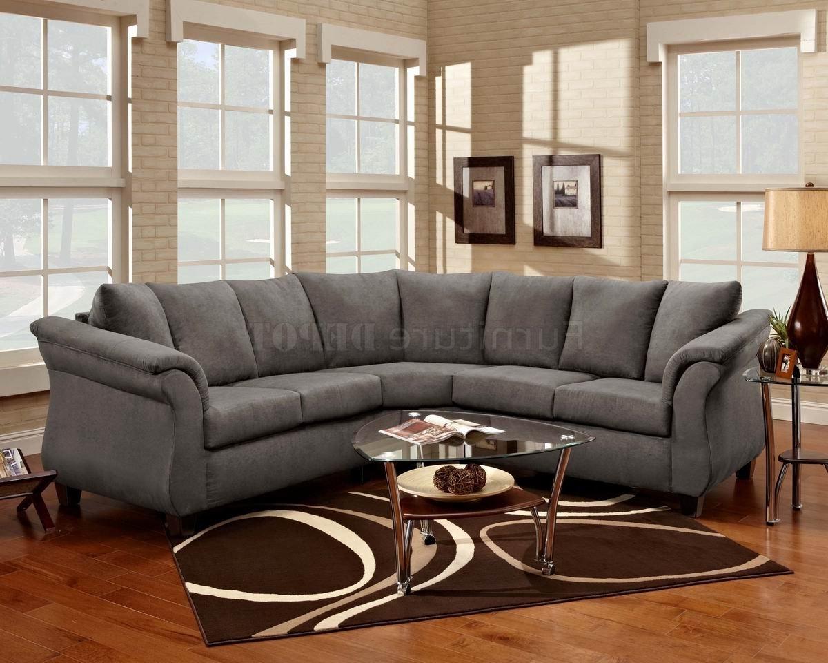Preferred Sectional Sofas Art Van In Best Grey Microfiber Sectional Sofa 72 With Additional Sofas And (View 5 of 15)