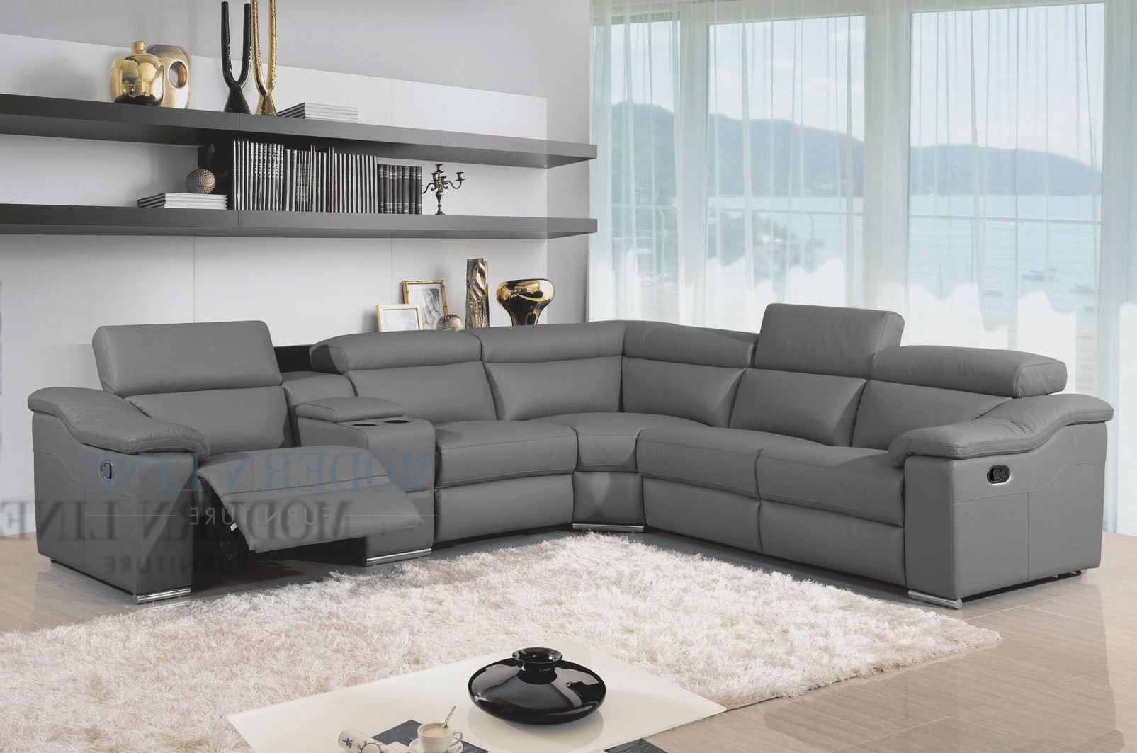 Preferred Sectional Sofas With Recliners Leather With Best Leather Sectional Sofa With Recliner 61 About Remodel Sofas (View 8 of 15)