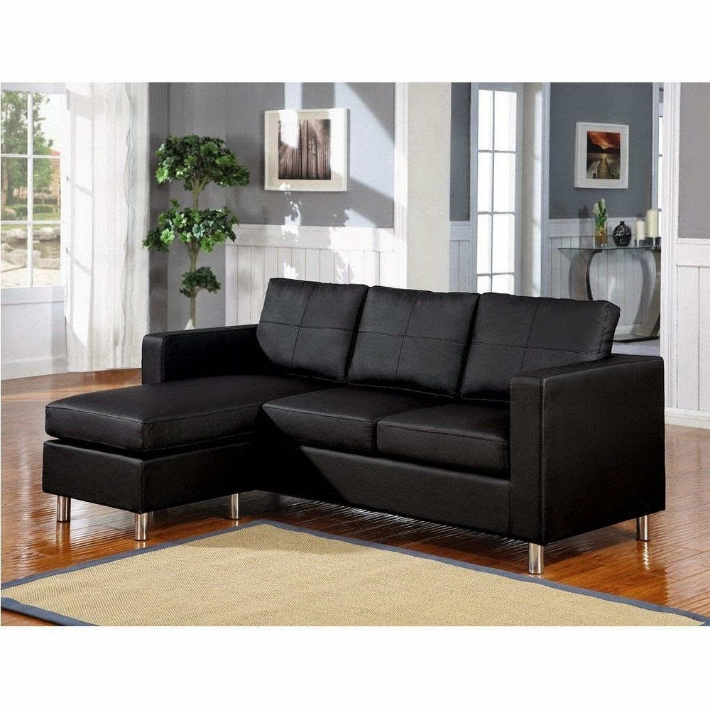Preferred Small Couches With Chaise Lounge Throughout Sofa ~ Luxury Leather Sofa With Chaise Lounge Cute Small Sectional (View 8 of 15)