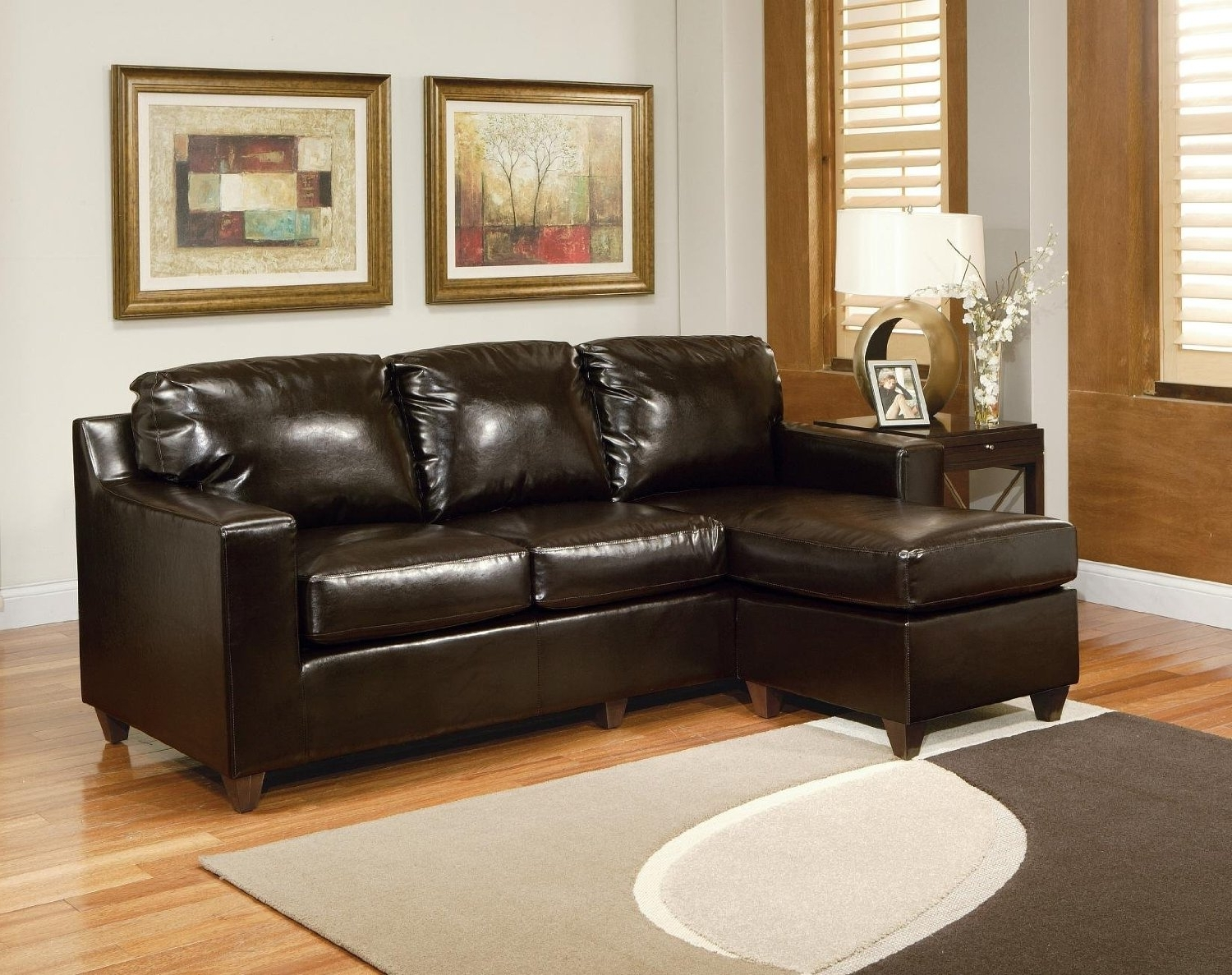 Preferred Small Leather Sectionals With Chaise Regarding Sectional Sleeper Sofa Queen Small Sectional Couch Apartment Size (View 15 of 15)