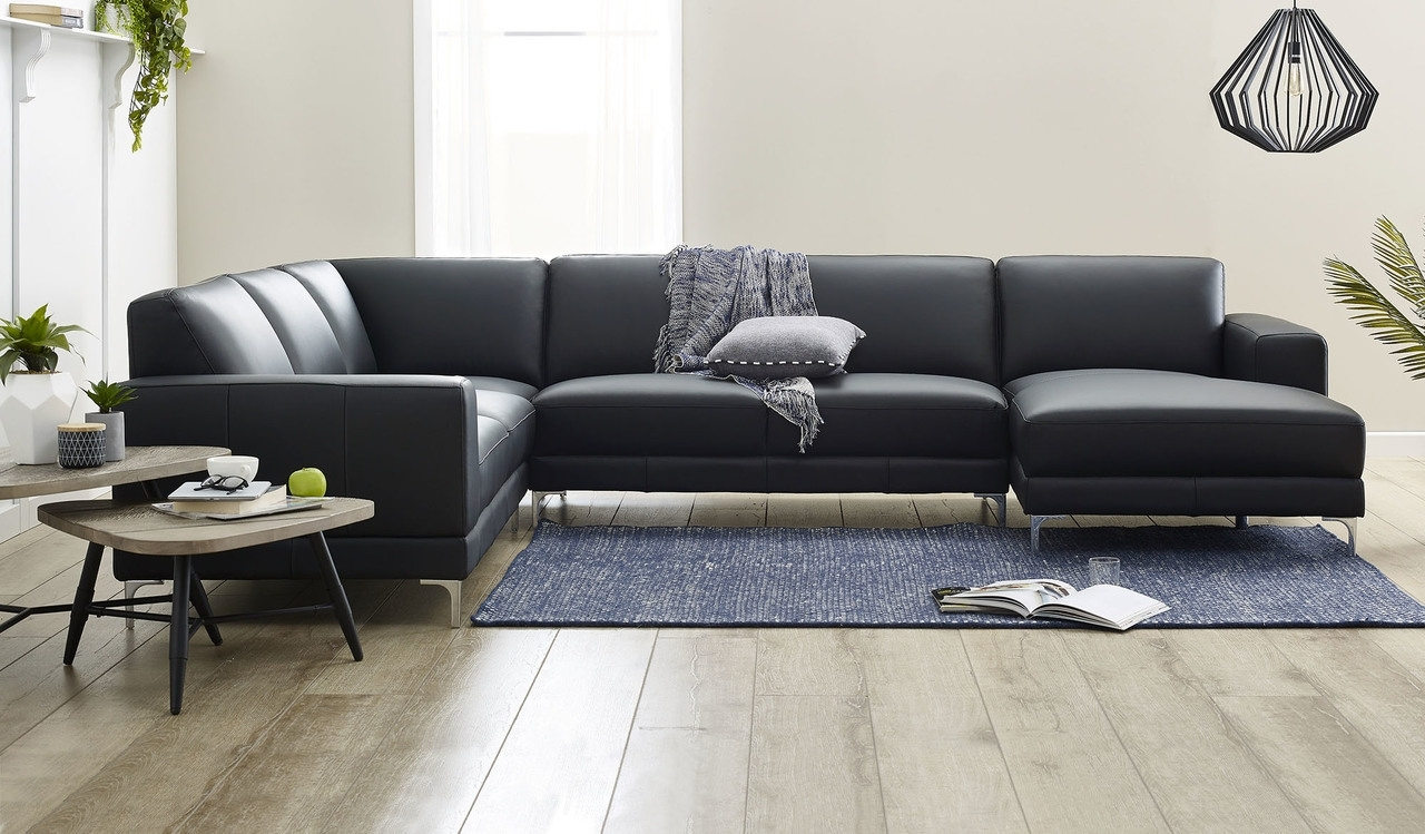 Preferred Sofa: Leather Sofa With Chaise Lounge (View 6 of 15)