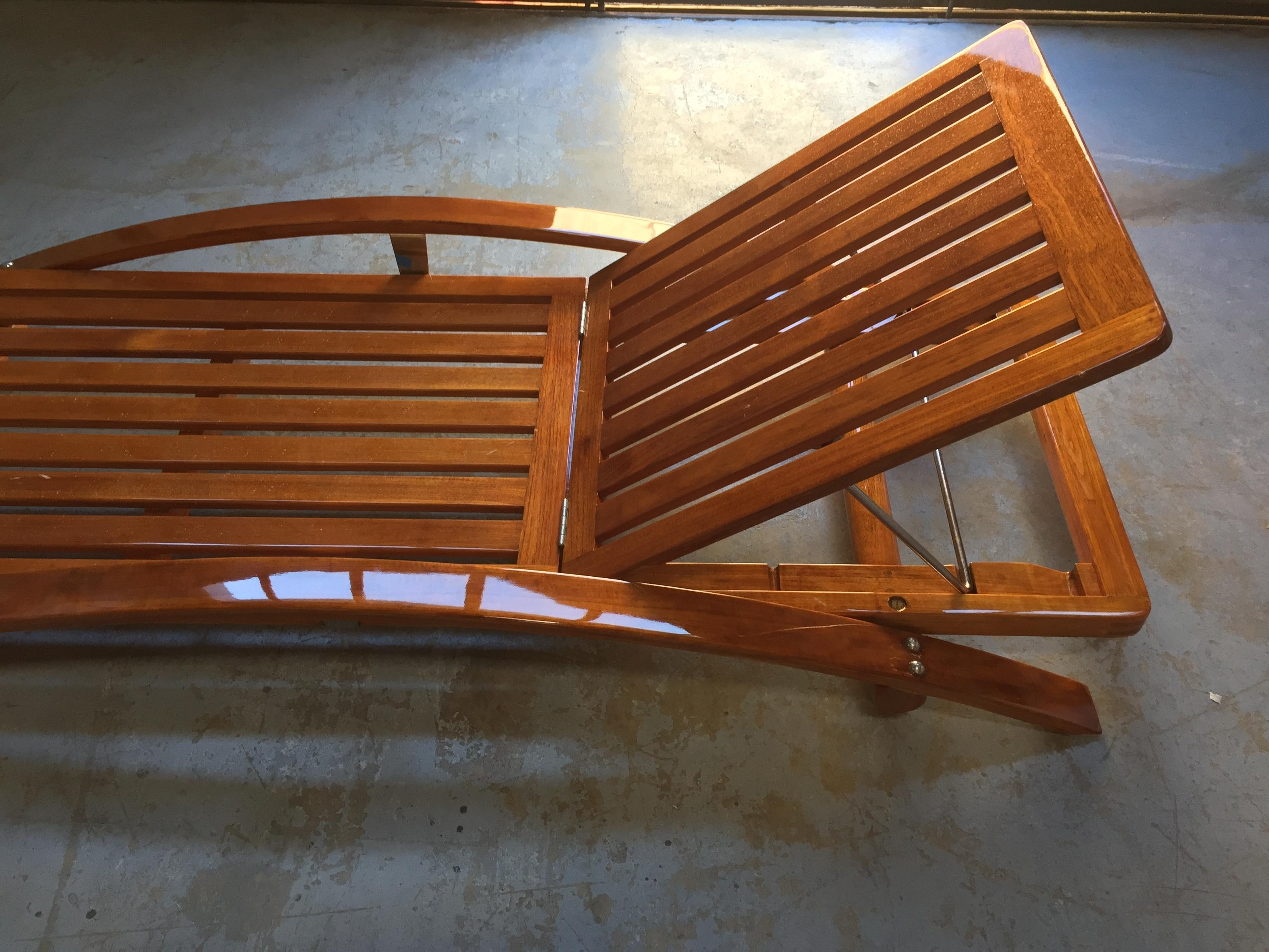Preferred Teak Chaises Throughout Summit Teak Chaises Lounges – Cbay (View 6 of 15)