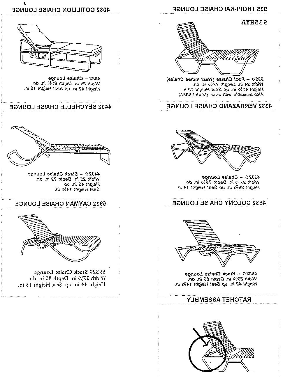 Preferred Tropitone Chaise Lounges Intended For Recall Image: Chaise Lounge Chairs Recalltropitone :: Consumer (View 7 of 15)