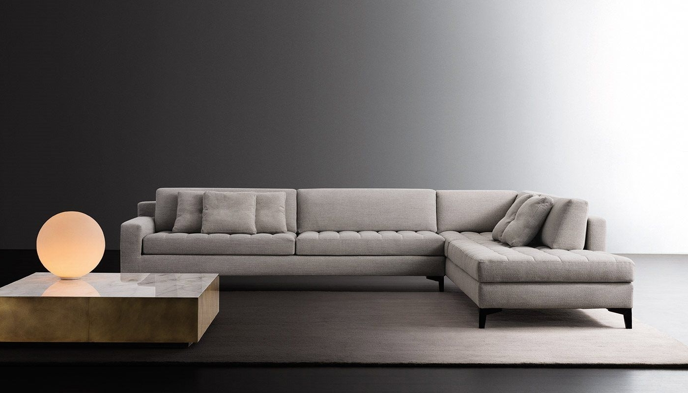 Prince Modular Sofa And Belt Low Tablemeridiani Design Andrea In Current Low Sofas (View 11 of 15)
