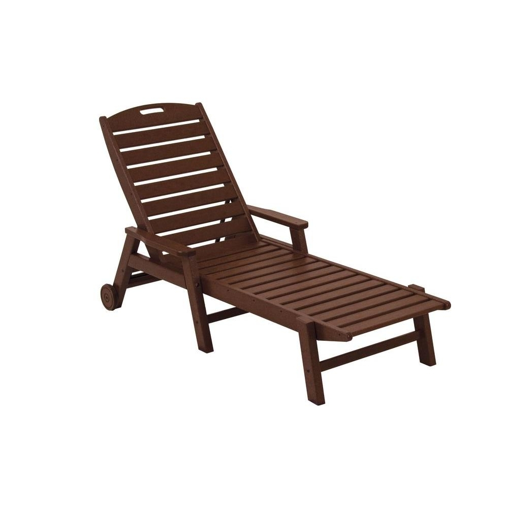 Pvc Outdoor Chaise Lounge Chairs Pertaining To Most Current Plastic Patio Furniture – Outdoor Chaise Lounges – Patio Chairs (View 3 of 15)