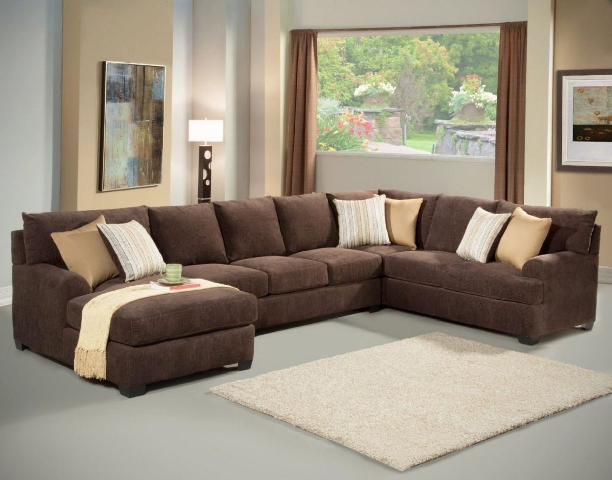 Queen Sofa Sleeper Sectional Microfiber With Regard To 2017 Microfiber Chaises (Gallery 14 of 15)