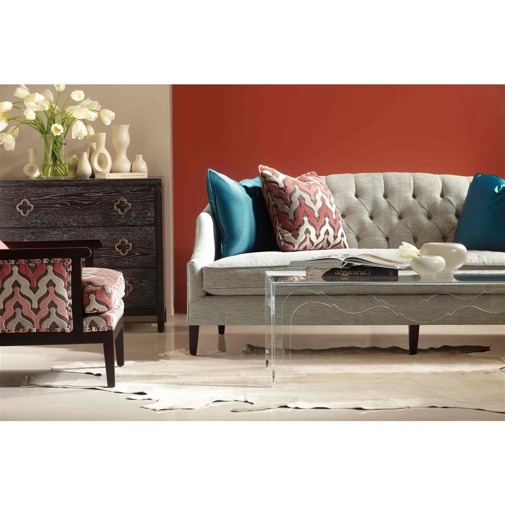 Quincy Il Sectional Sofas Pertaining To Famous Furniture : Distressed Tufted Leather Sofa Living Spaces Belleview (View 7 of 15)