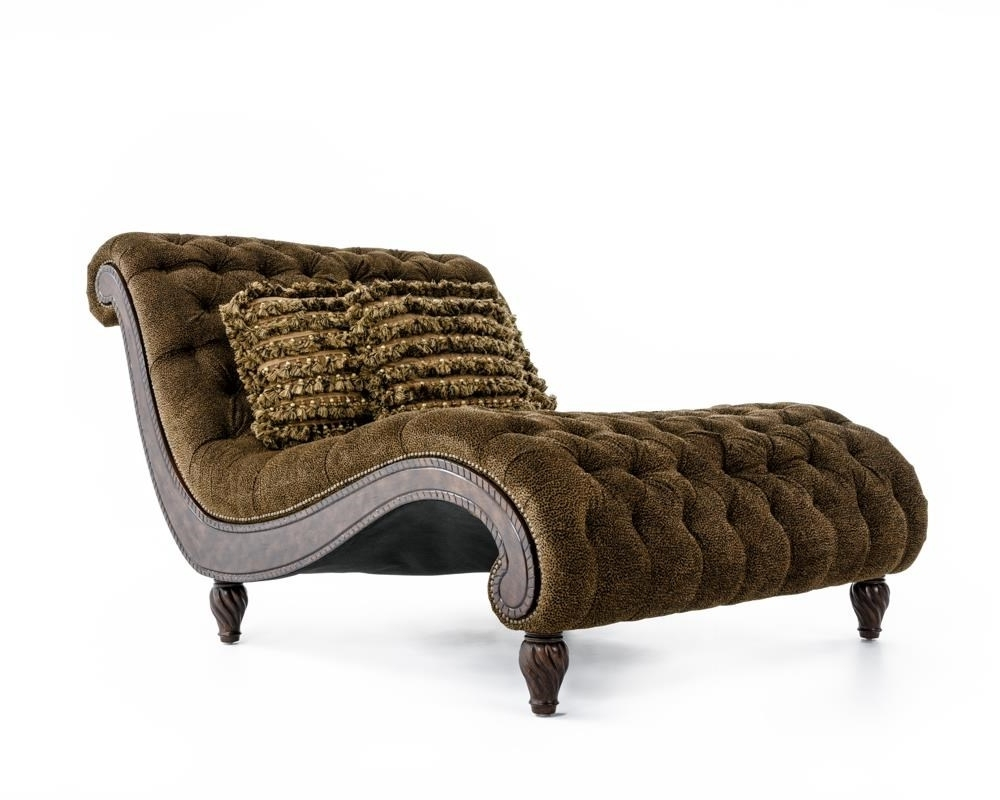 Rachlin Classics Dinah Decorative Dinah Chaise With Exotic Intended For Favorite Exotic Chaise Lounge Chairs (View 11 of 15)