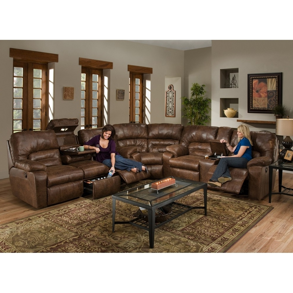 Recent 100X100 Sectional Sofas Throughout Furniture : Youth Recliner Large Sectional Sofas With Ottoman (View 11 of 15)