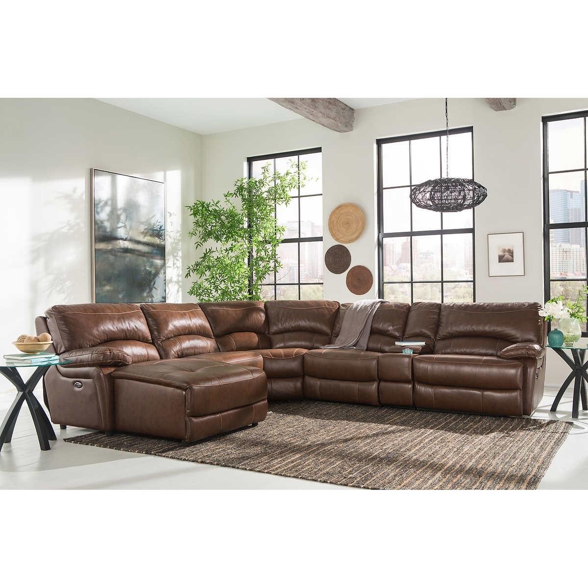 Recent 6 Piece Leather Sectional Sofas Regarding 6 Piece Leather Sectional Sofa – Radiovannes (View 3 of 15)