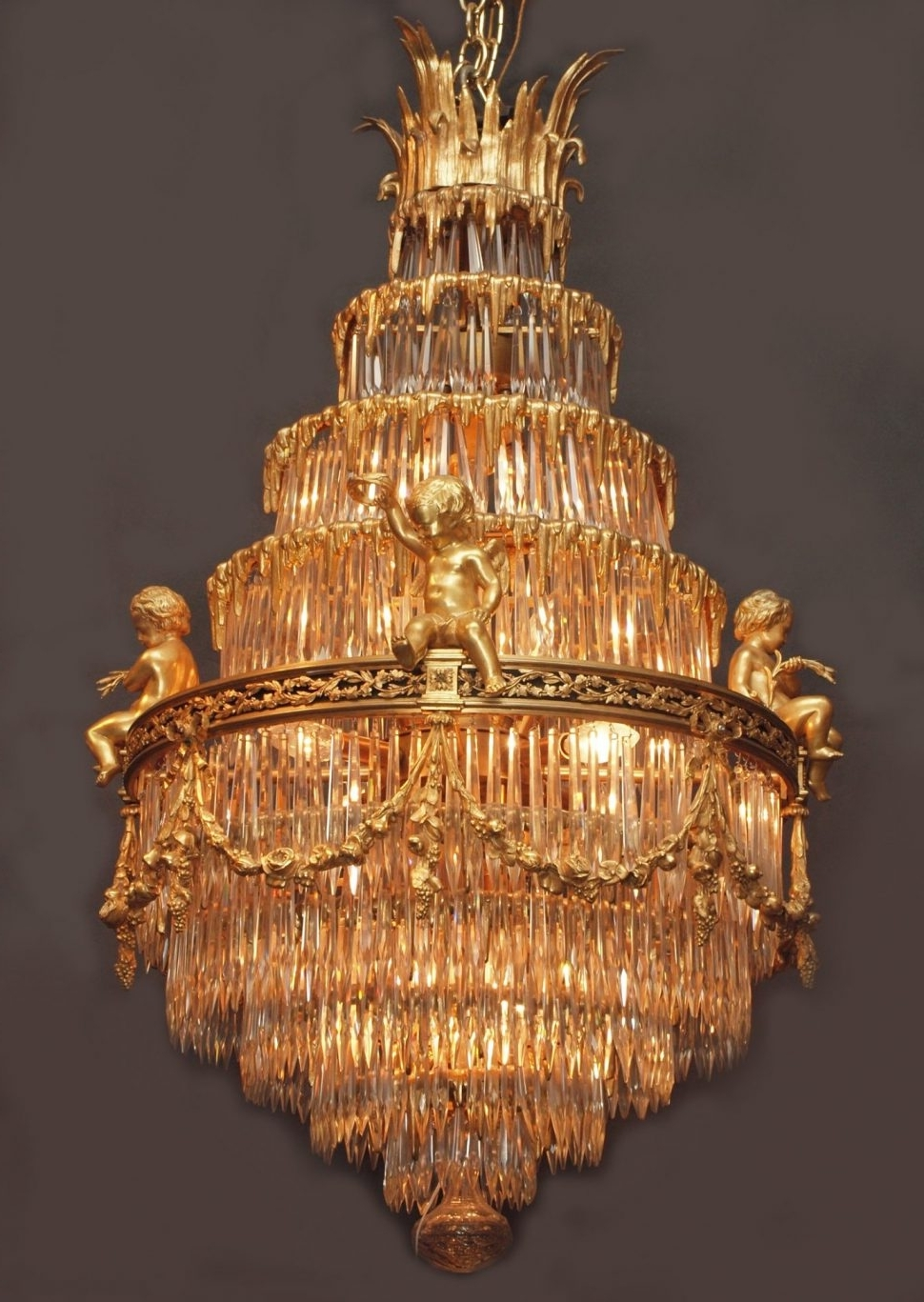 Recent Antique Chandeliers Chicago Tags : 59 Gracious Antique Chandeliers Within Antique Chandeliers (View 4 of 15)