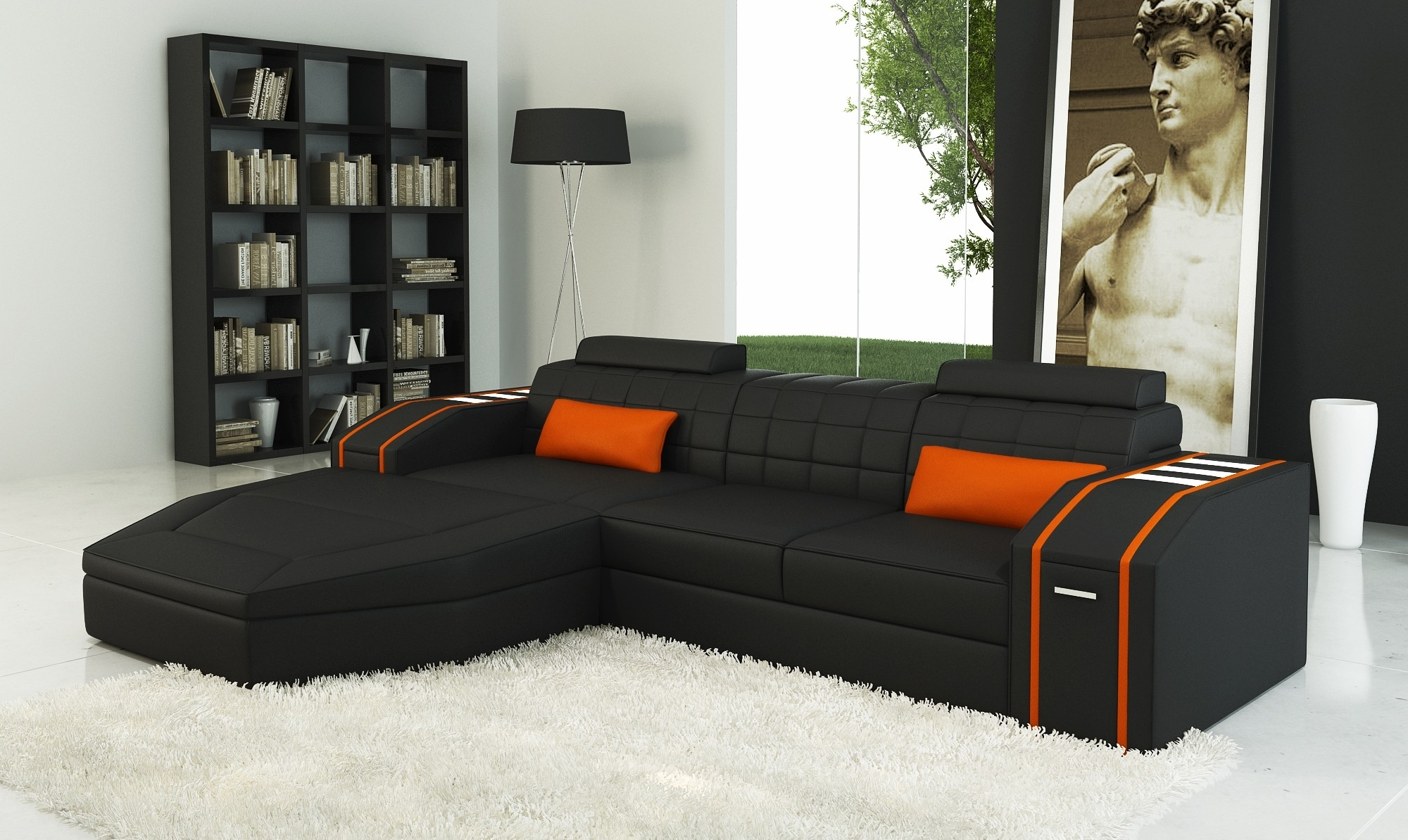 Recent Cheap Black Sofas Intended For Sofa: Extraordinary Cheap Black Sofa Black Furniture Bedroom (View 4 of 15)