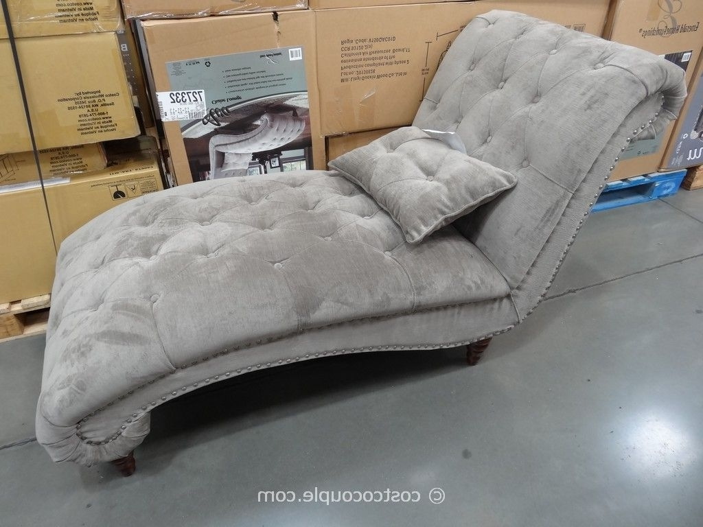 Recent Costco Chaise Lounge Looks Better In Person (View 1 of 15)