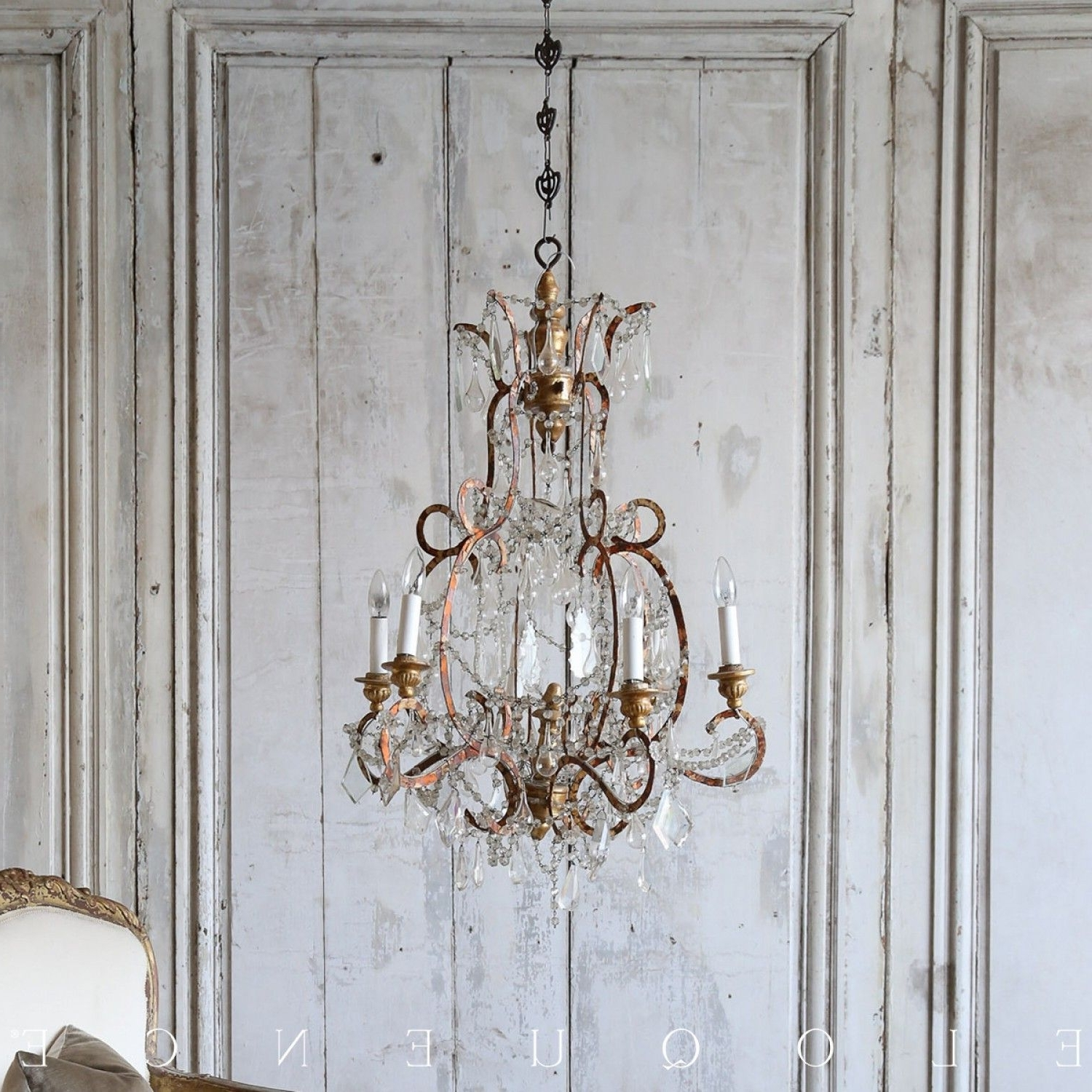 Recent Cream Gold Chandelier Intended For Eloquence® Antique French Orange Cream Gold Chandelier $ (View 13 of 15)