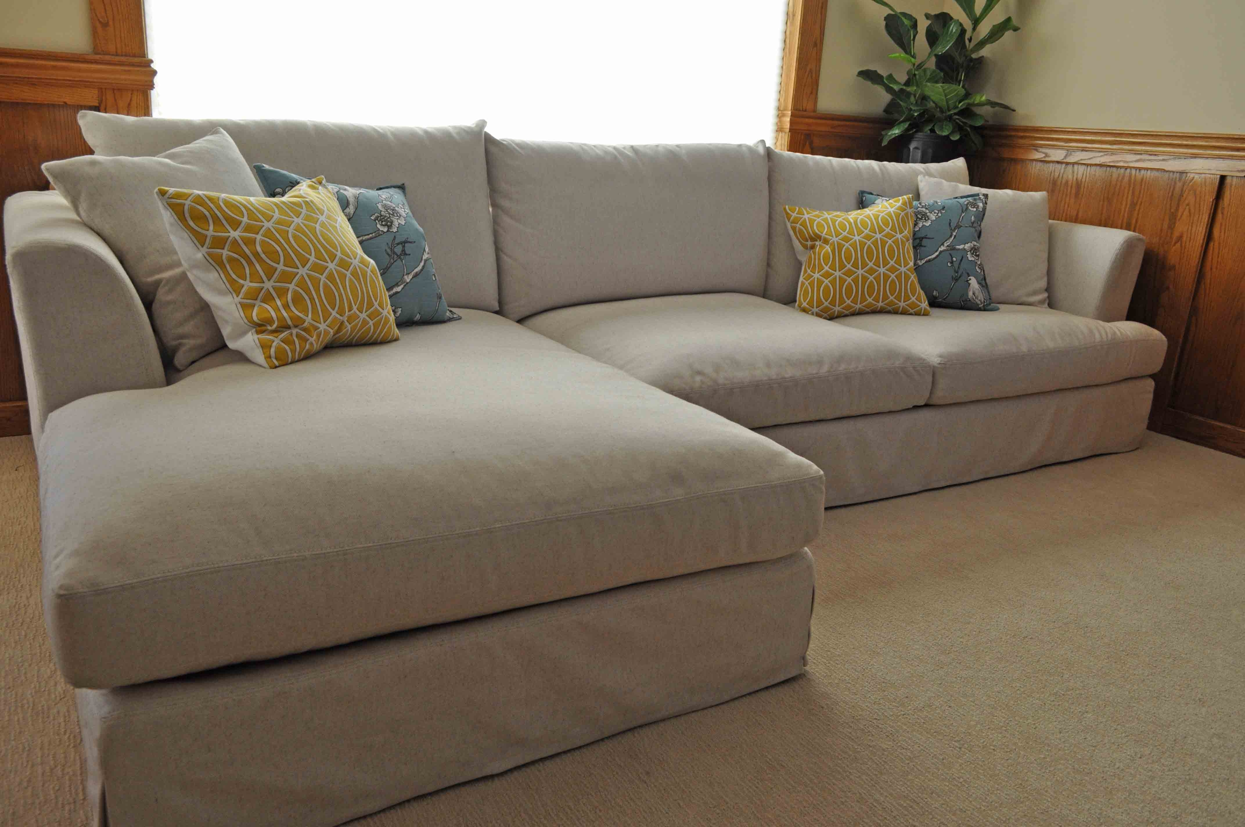 Recent Decorating: Using Tremendous Oversized Couch For Lovely Living With Regard To Deep Seat Sectionals With Chaise (View 8 of 15)