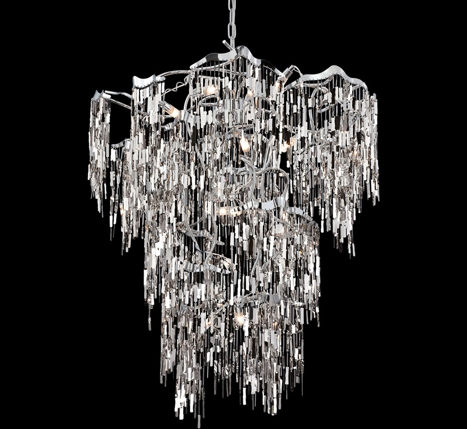 Recent Elfassy 19 Light Extra Large Contemporary Chandelier (View 14 of 15)