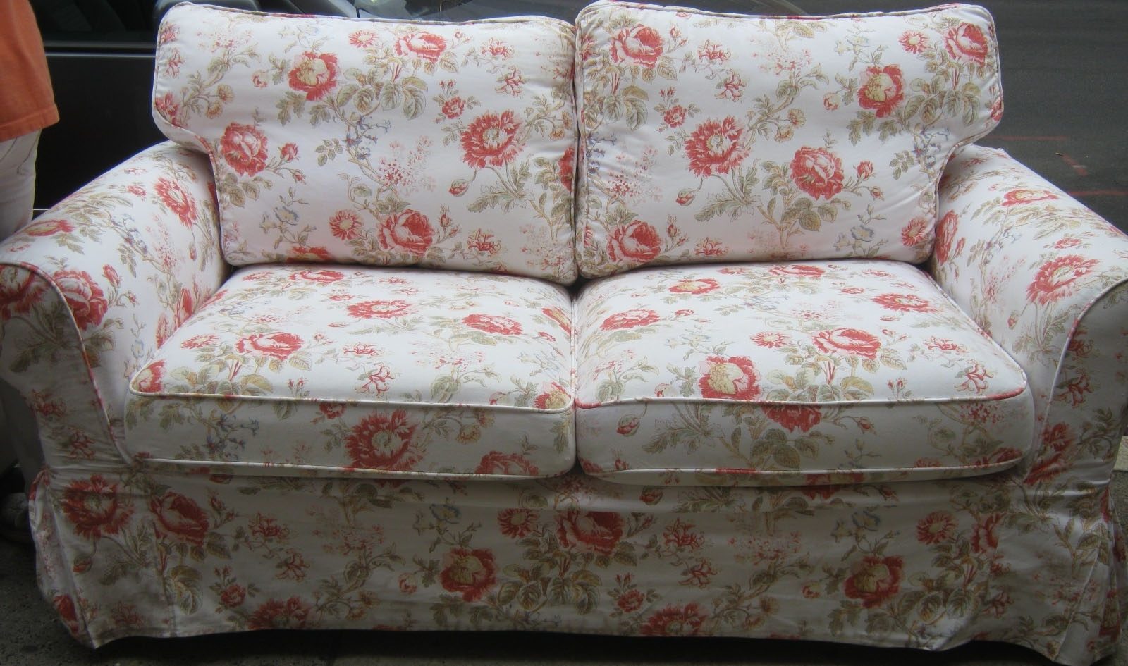 Recent Furniture : Floral Couch And Loveseat Used Furniture Gallery With Regard To Chintz Floral Sofas (View 12 of 15)