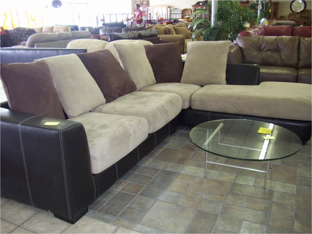 Recent Furniture: Microsuede Sectional New Sectional Sofa Reviews Run Within Oshawa Sectional Sofas (View 14 of 15)
