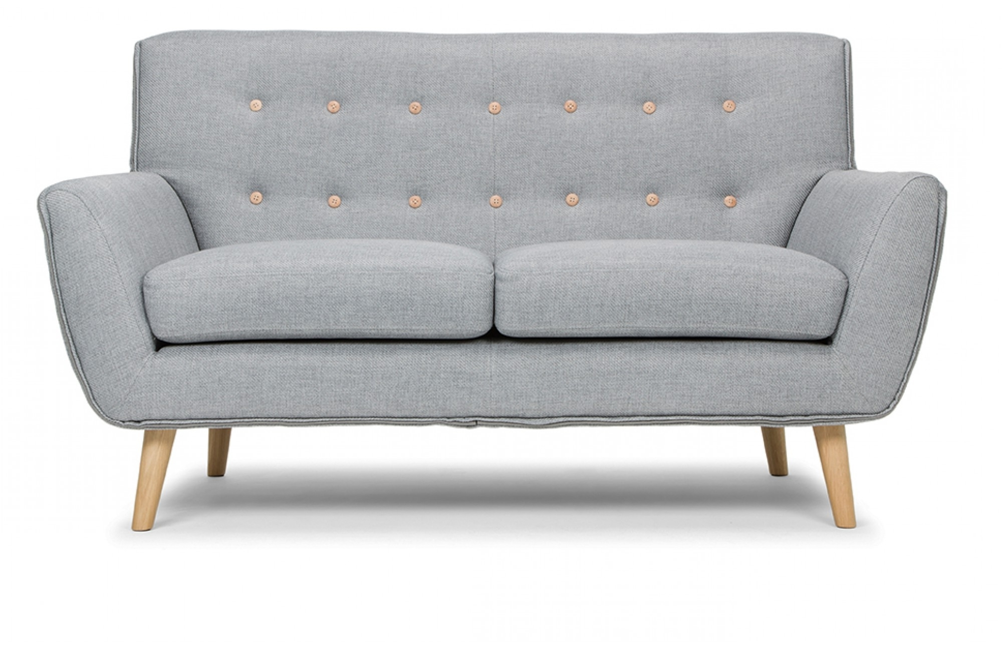 Recent Grey 2 Seater Sofa – Lounge Furniture – Out & Out Throughout 2 Seater Sofas (View 9 of 15)