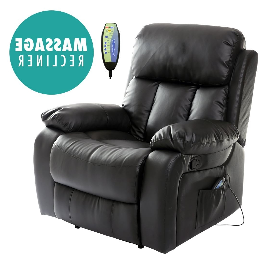 Recent Home Decor: Fetching Massage Recliner Chairs And Chester Heated For Gaming Sofa Chairs (View 14 of 15)