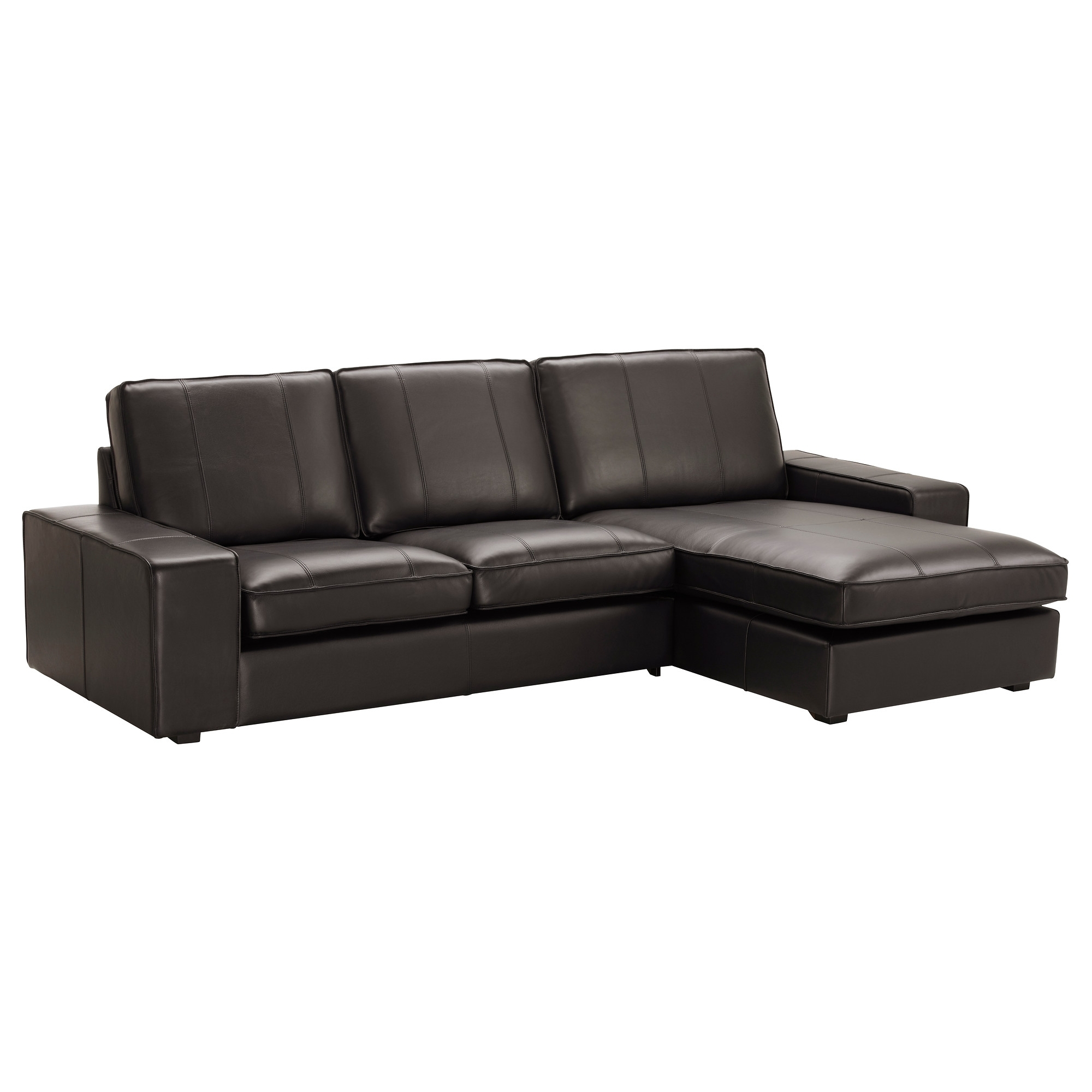 Recent Kivik Sofa – With Chaise/grann/bomstad Black – Ikea Within Ikea Chaise Sofas (View 3 of 15)