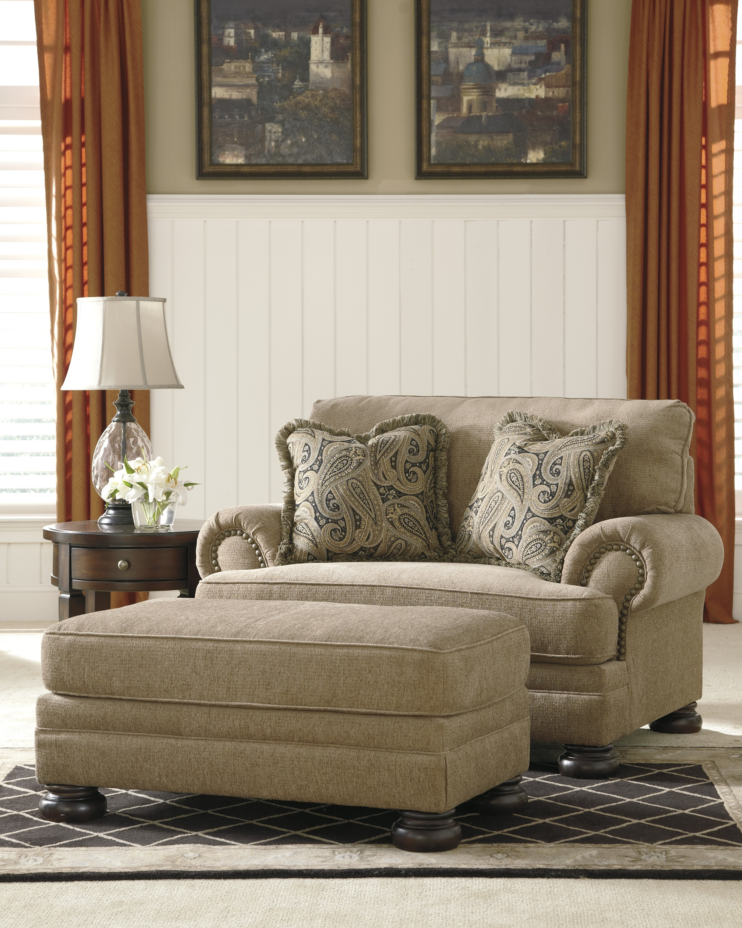 Recent Loveseats With Ottoman With Regard To Ottomans Archives – The Decor Store (View 9 of 15)