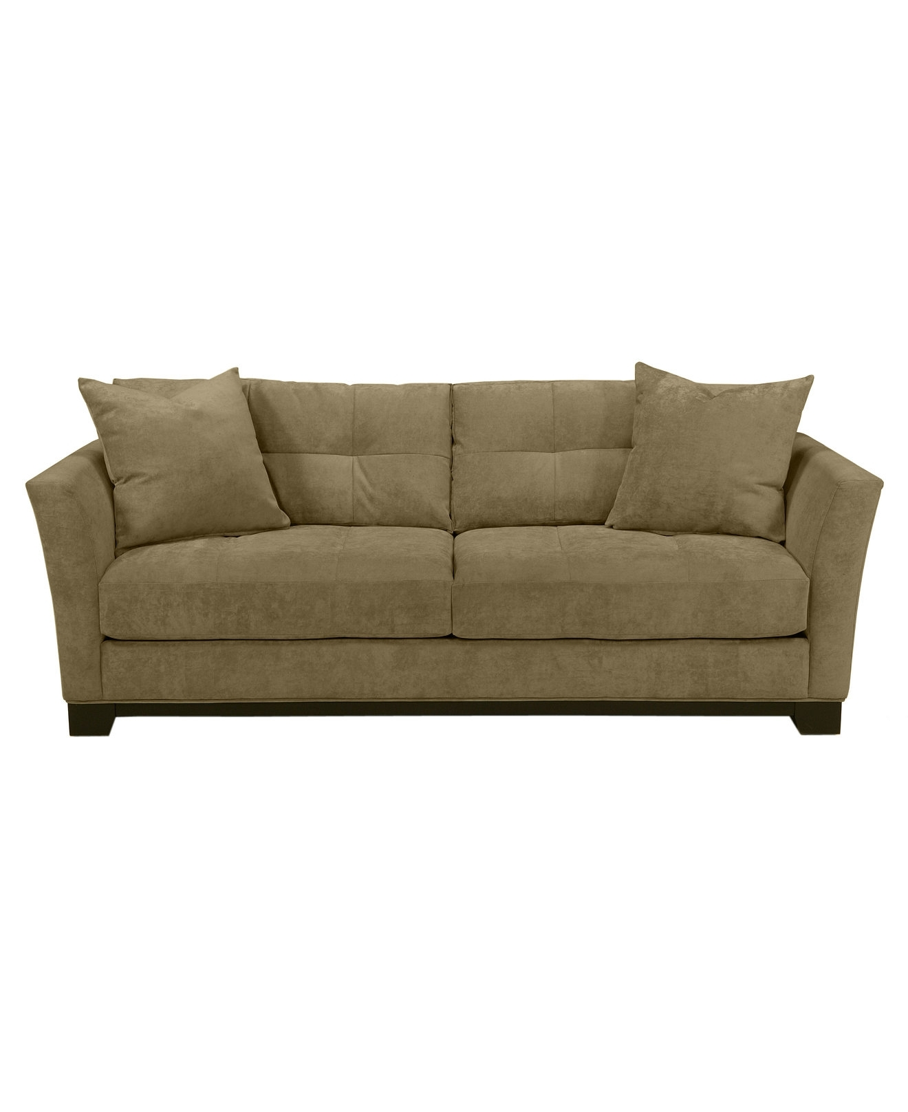 Recent Macys Sofas Within 90 Wide Elliot Fabric Microfiber Queen Sleeper Sofa Bed – Couches (View 8 of 15)