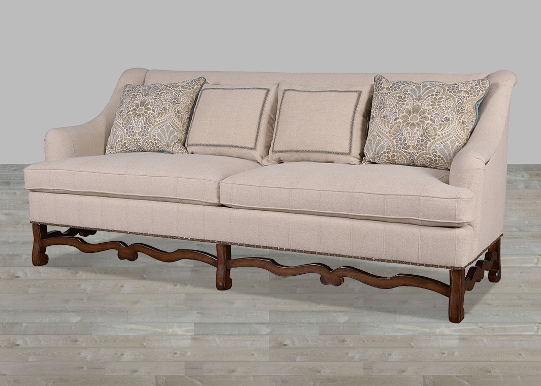 Recent Modern Traditional Hemp Fabric Sofa With Huston's Arroyo Finish With Regard To Traditional Fabric Sofas (View 6 of 15)
