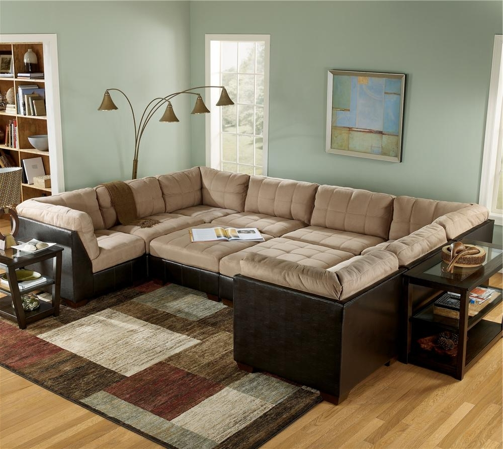 Recent Sectional Sofa With Large Ottoman – Hotelsbacau Regarding Sofas With Large Ottoman (View 6 of 15)