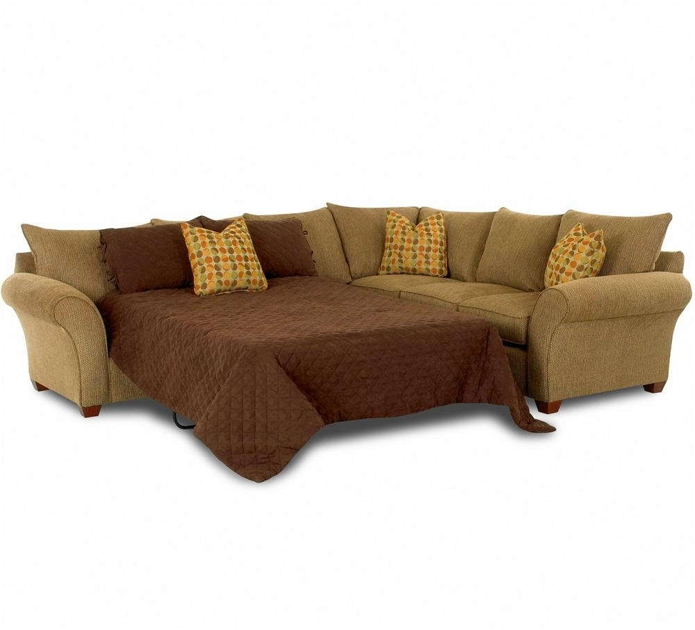 Recent Sectional Sofas With Sleeper Inside Sofa Sleeper Spacious Sectionalklaussner (View 11 of 15)