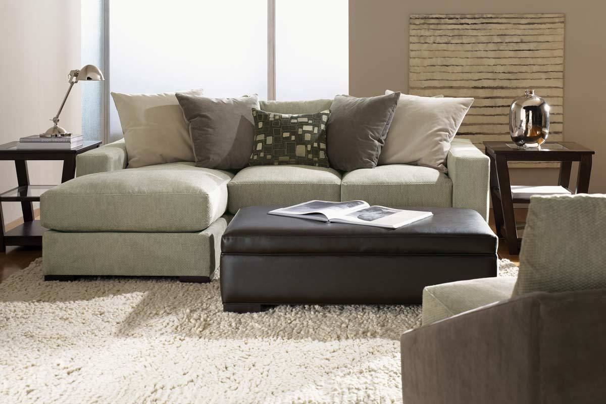 Recent Small Sectional Sofas With Chaise And Ottoman Within Sectional Sofa Design: Coolest Reversible Chaise Sectional Sofa (View 8 of 15)