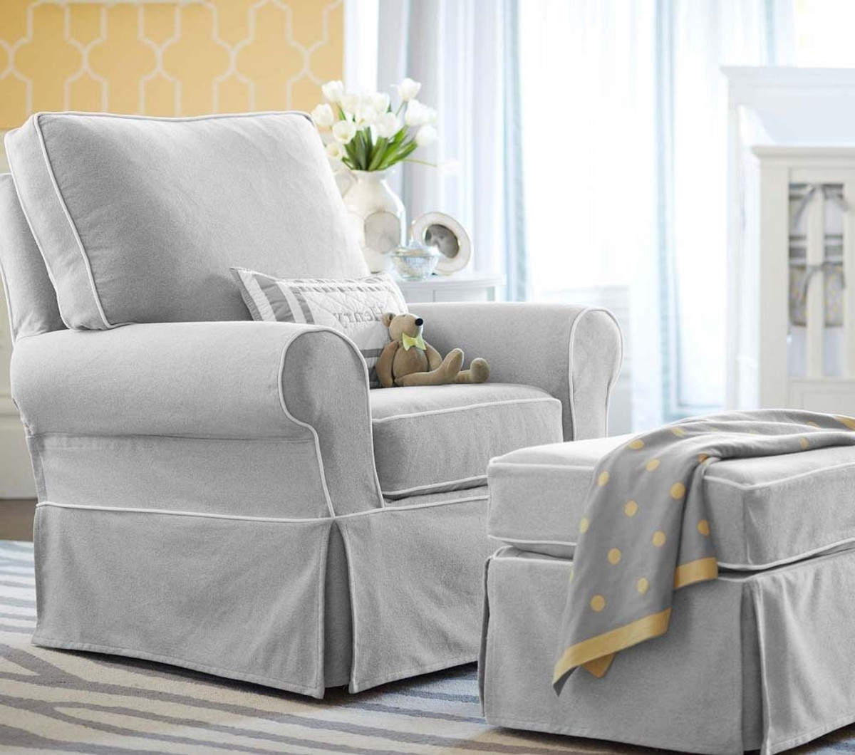 Recent The Most Comfortable Nursing Chair & Ottoman (View 7 of 15)