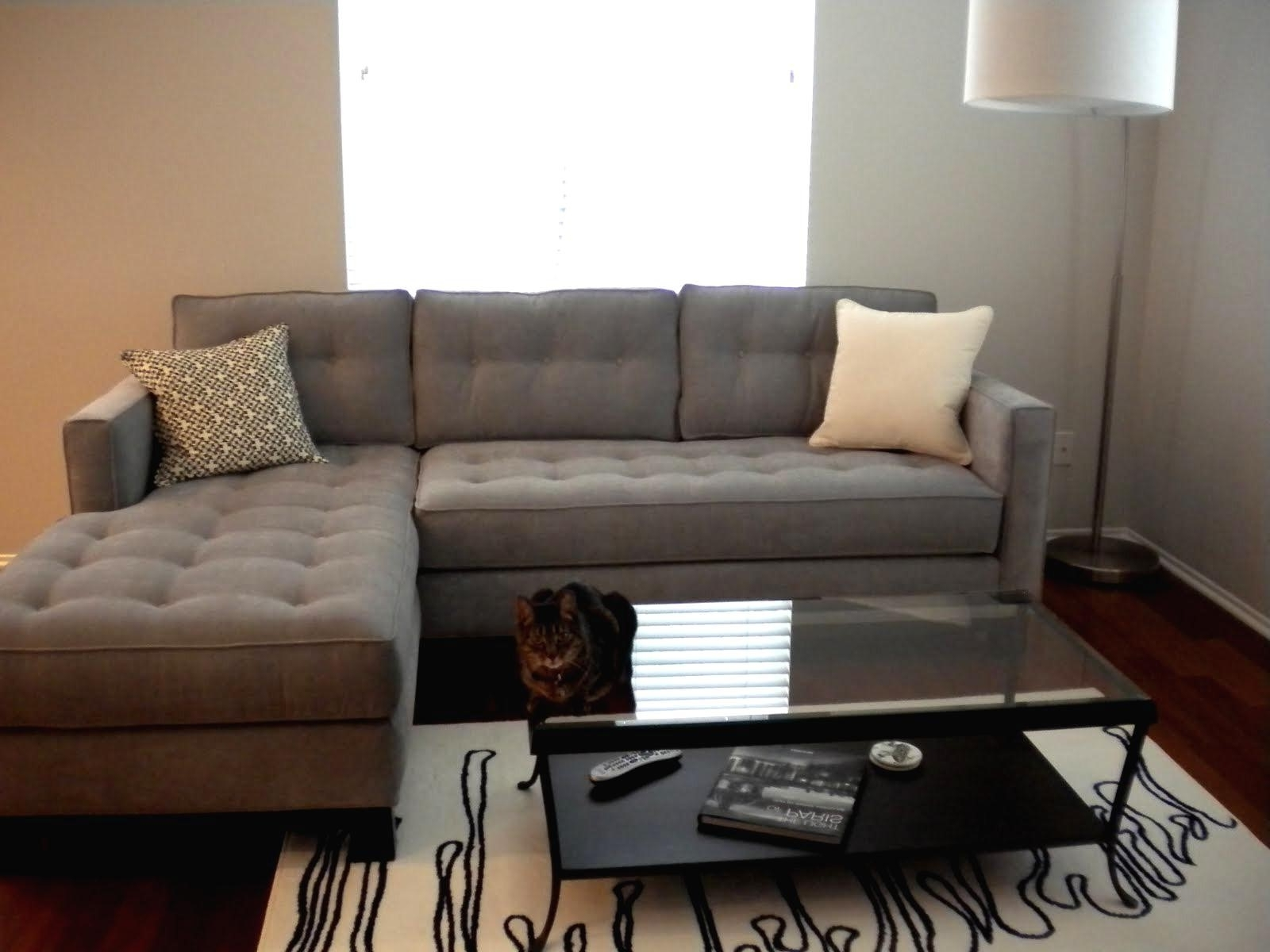Recent Tufted Sectional Sofas With Chaise For Sofa: Tufted Sectional Sofa With Chaise (View 3 of 15)