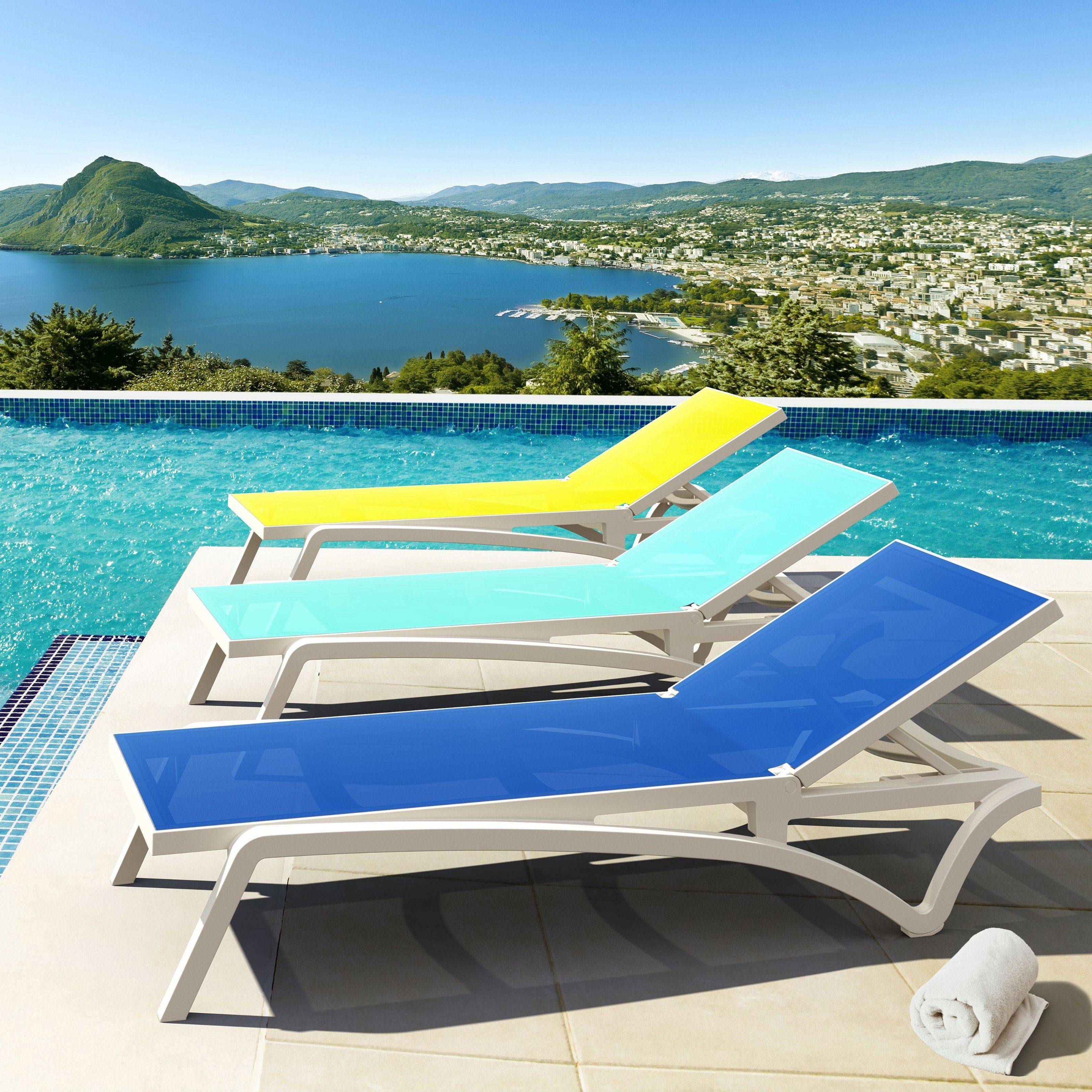 Recent Turquoise Outdoor Lounge Chair • Lounge Chairs Ideas Throughout Blue Outdoor Chaise Lounge Chairs (View 14 of 15)