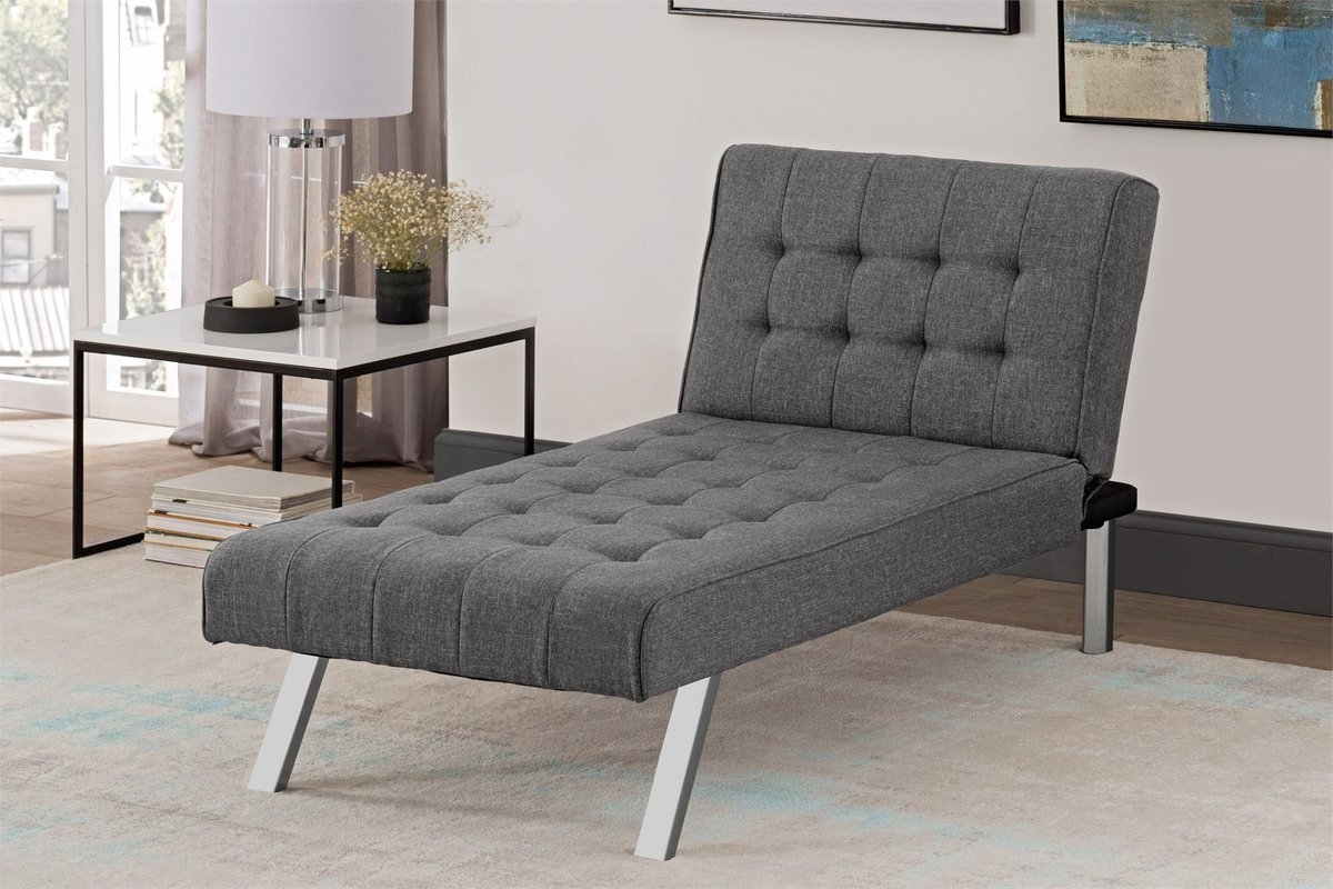 Recent Wade Logan Littrell Chaise Lounge & Reviews (View 14 of 15)