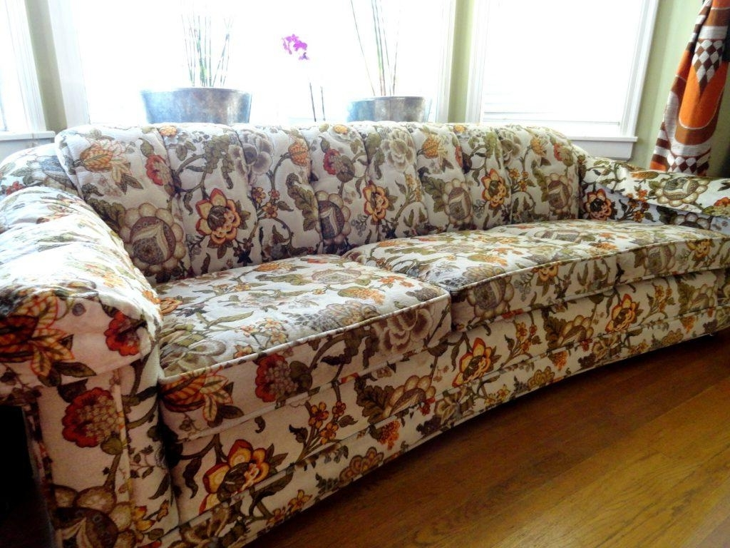 Recent Yellow Chintz Sofas In Furniture : Flowered Sofas Beautiful Floral Sofas Home Decor (View 9 of 15)