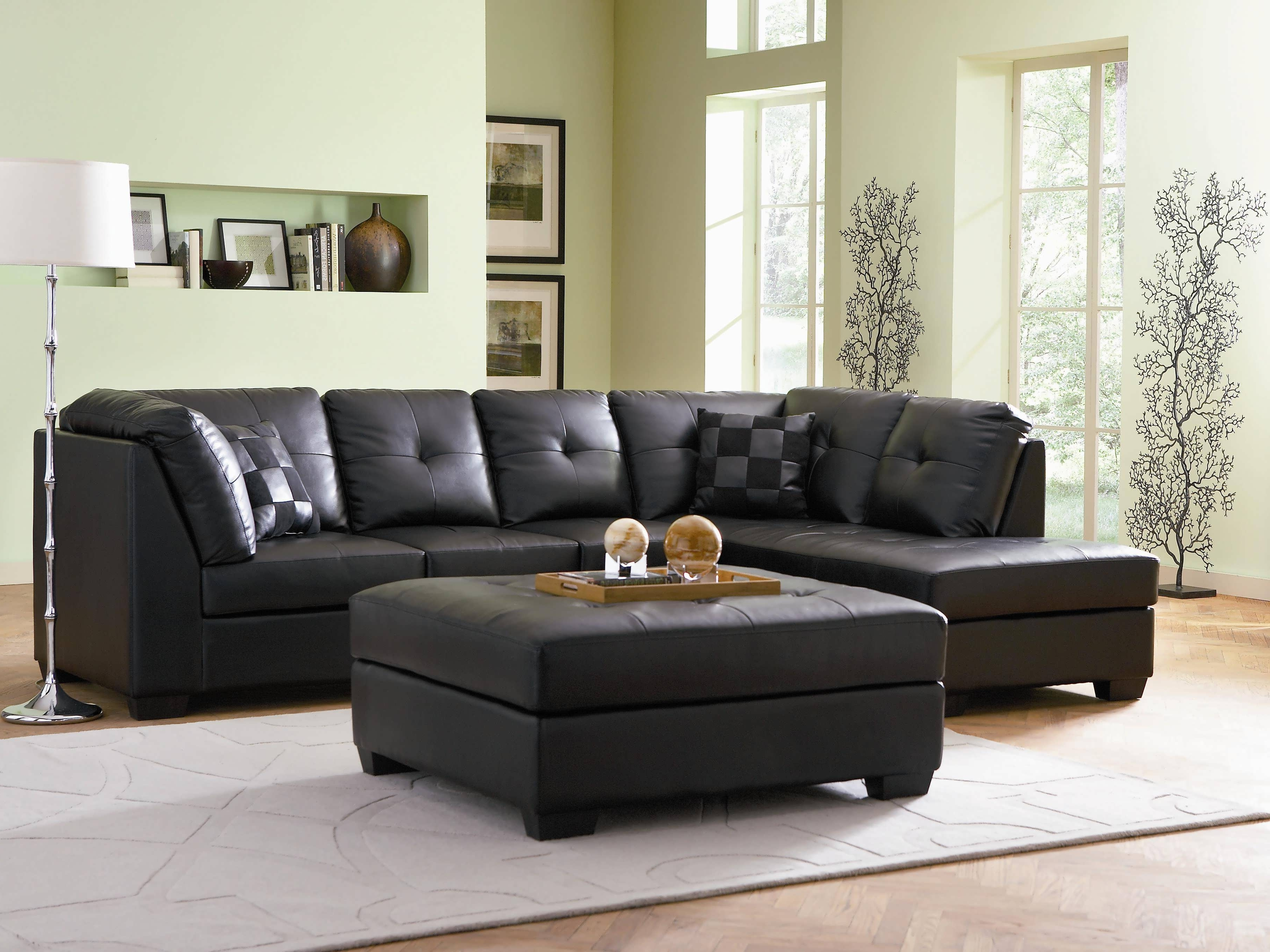 Reclining Sectionals With Chaise For Most Recently Released Sofa : Cheap Sectionals Sectional With Chaise Black Reclining (View 9 of 15)